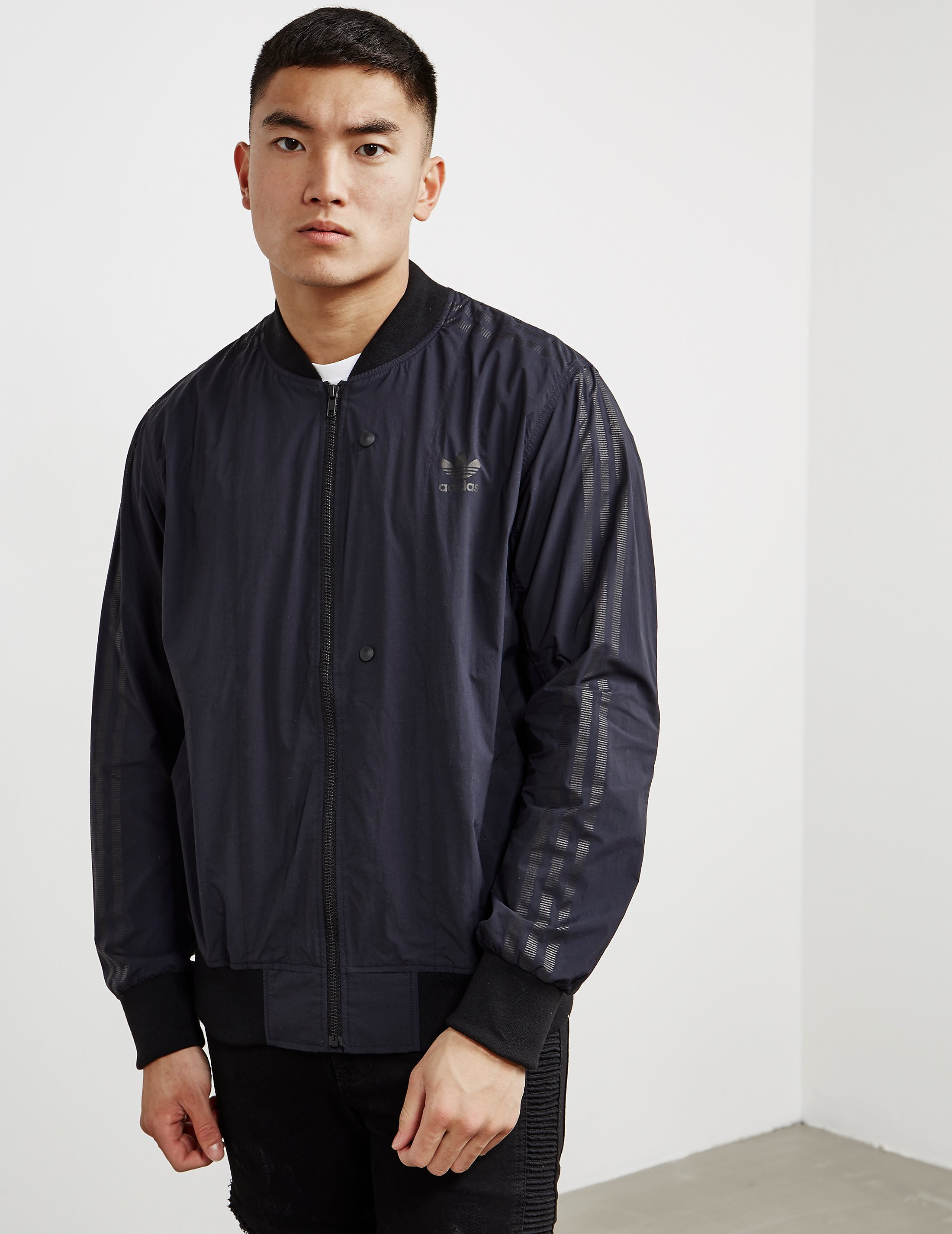 adidas Originals Deluxe Woven Lightweight Track Top
