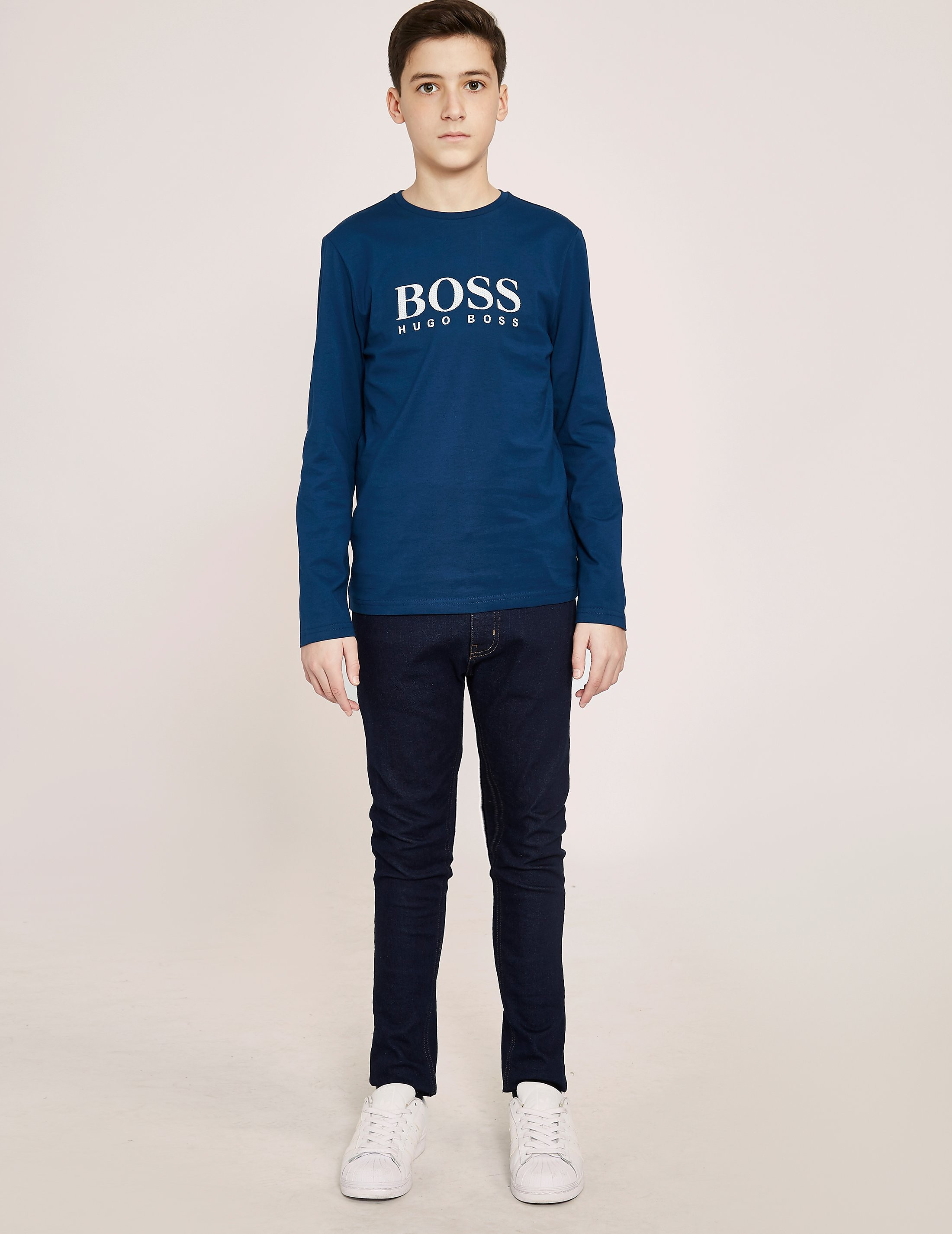BOSS Long Sleeve Logo T-Shirt