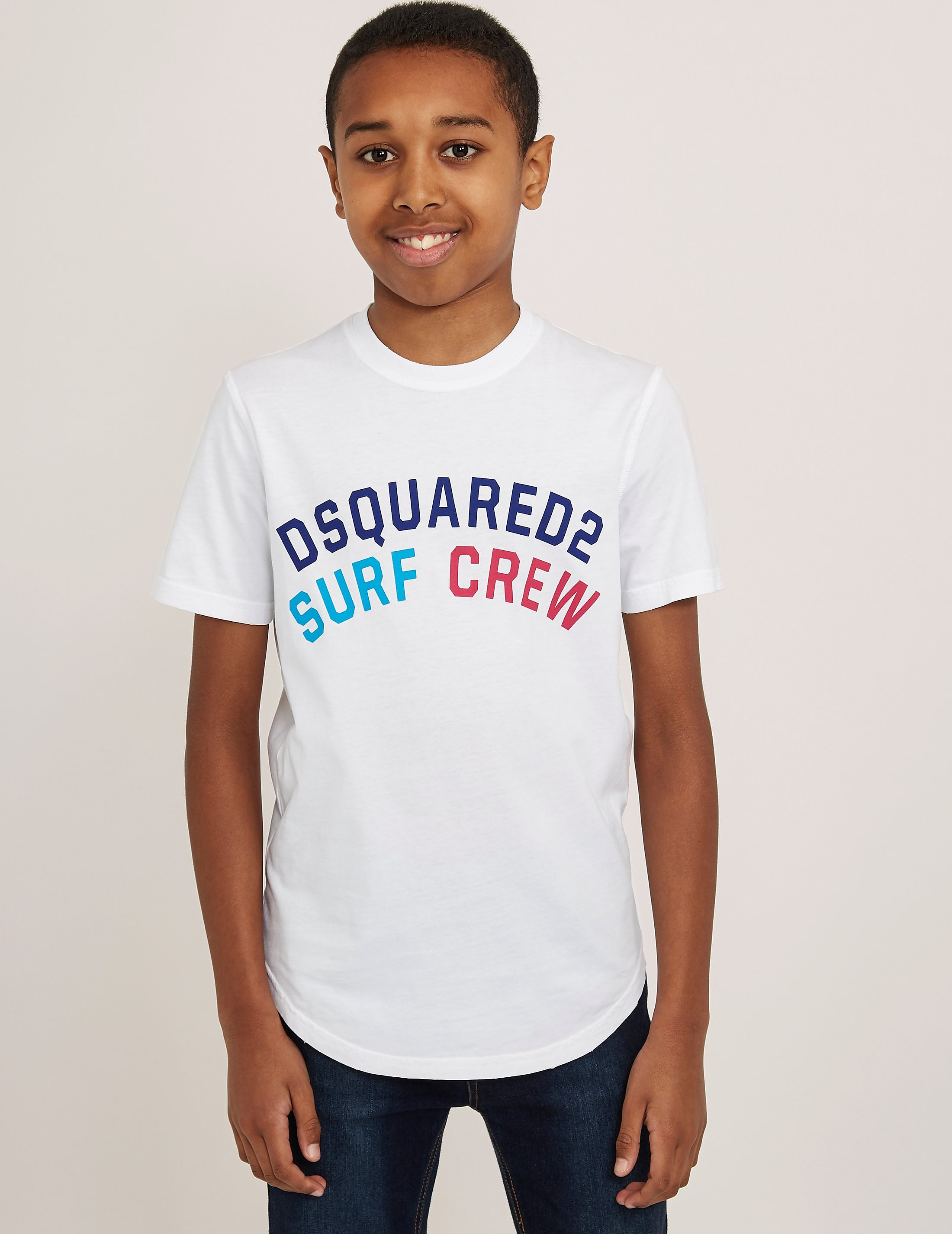 DSQUARED2 Arch Logo Short Sleeve T-Shirt
