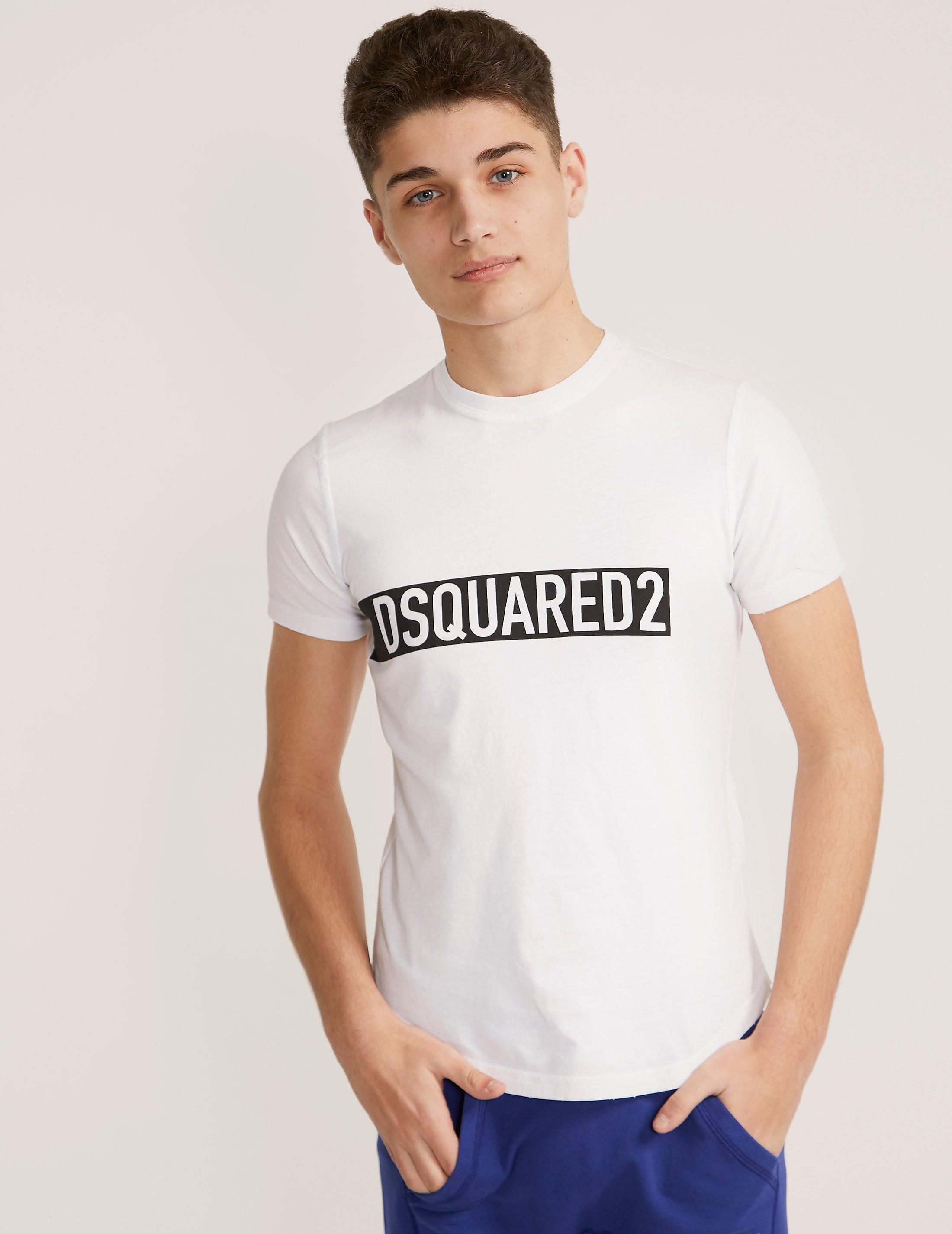 DSQUARED2 Block Logo Short Sleeve T-Shirt