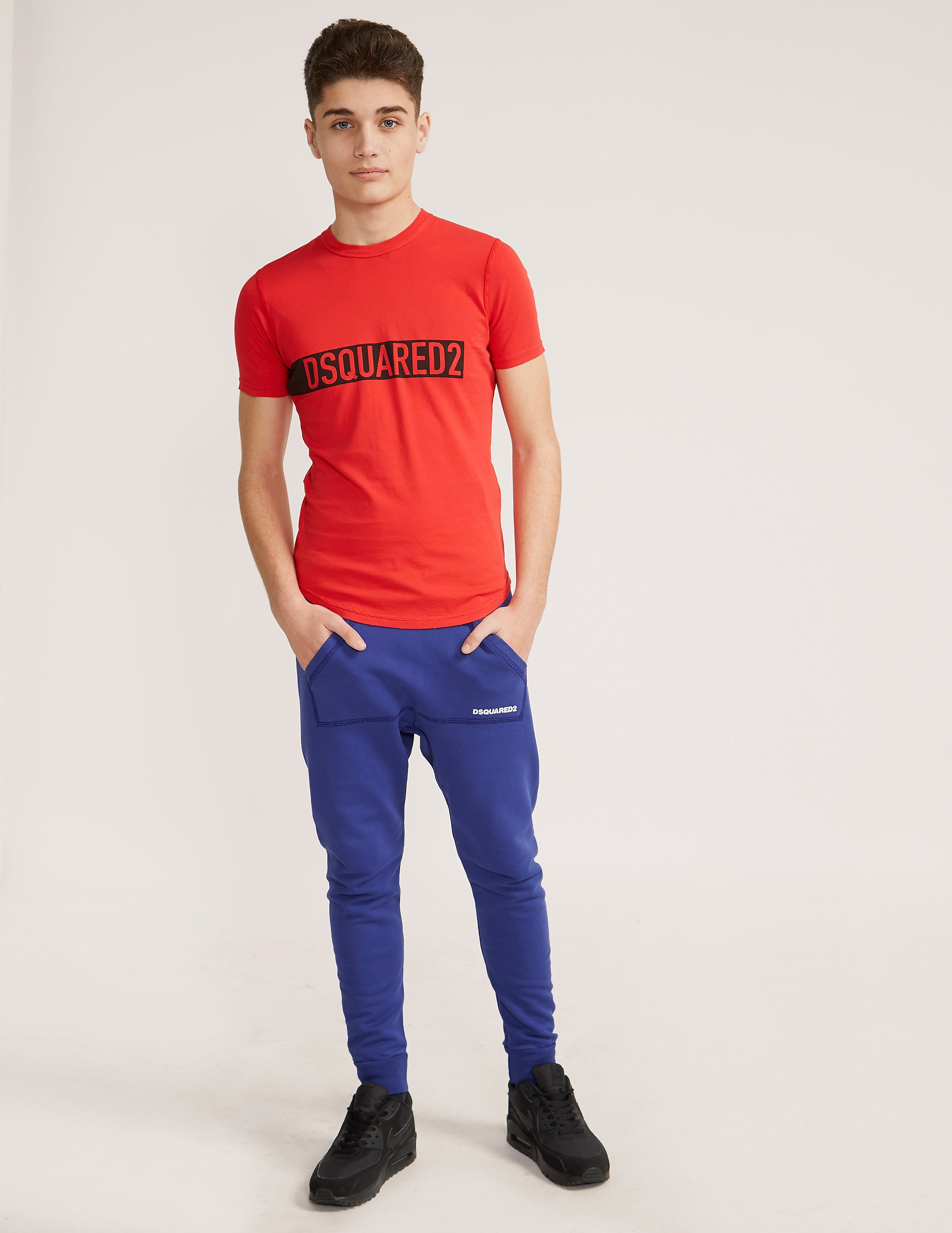 DSQUARED2 Block Logo Short Sleeve T-Shirt