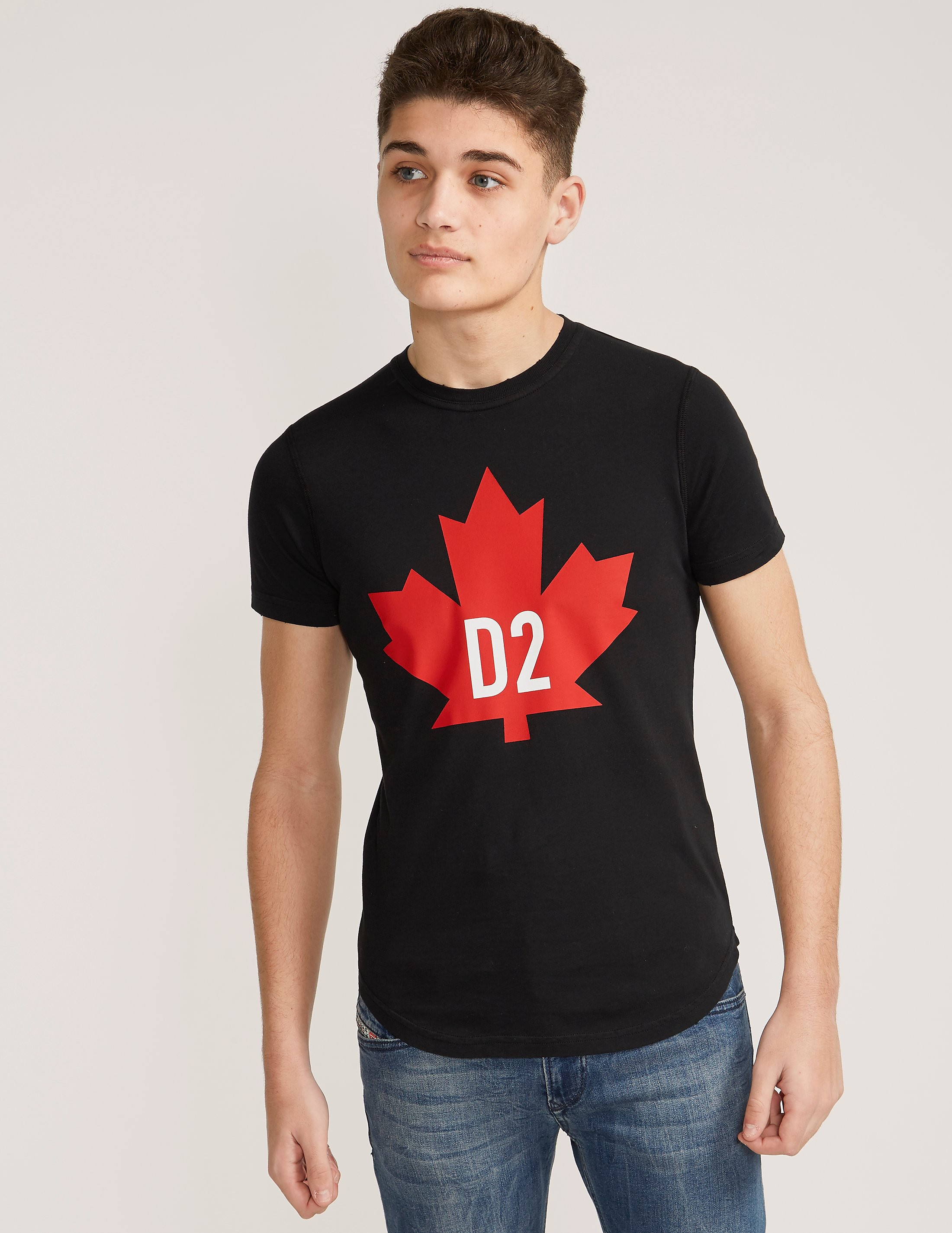 DSQUARED2 Maple Leaf Short Sleeve T-Shirt