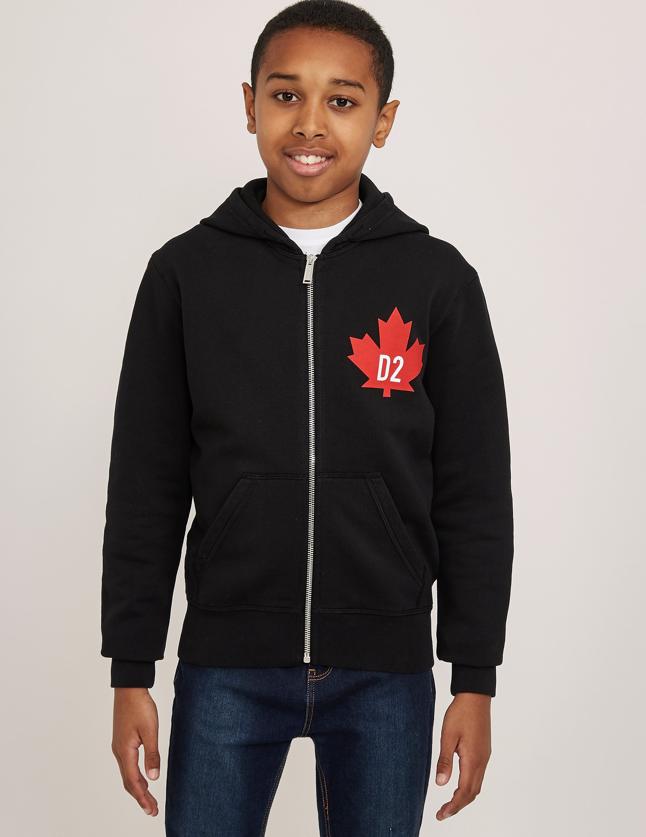 Dsquared Maple Zip Through Hoody