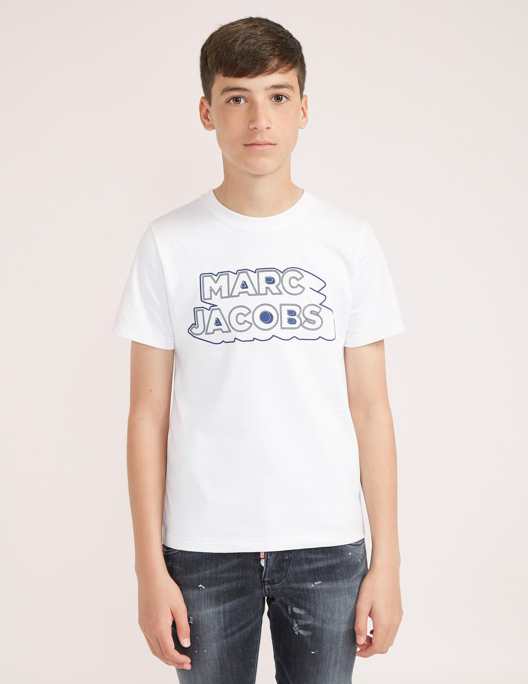 Little Marc Jacobs Logo Short Sleeve T-Shirt