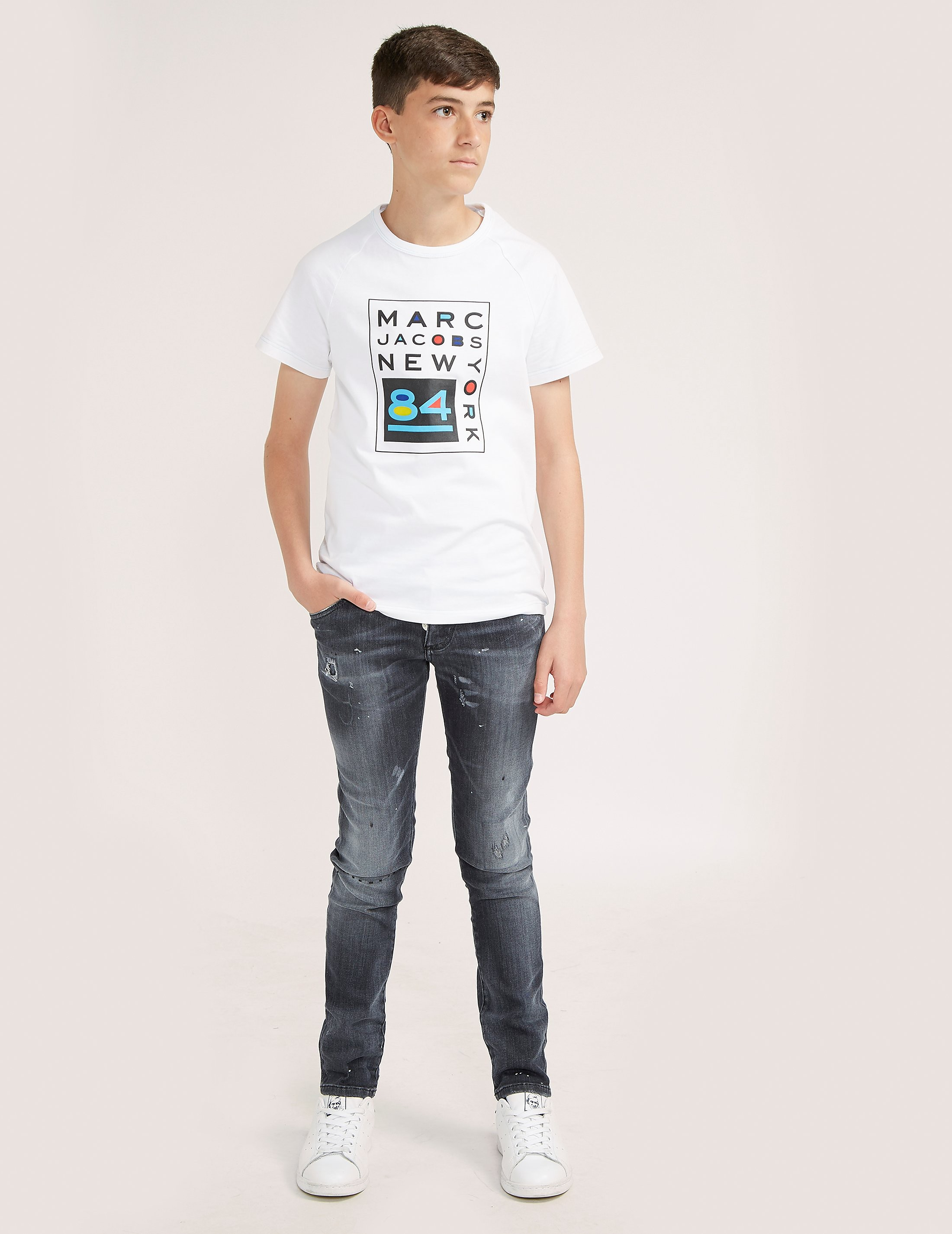 Little Marc Jacobs NY84 Short Sleeve T-Shirt