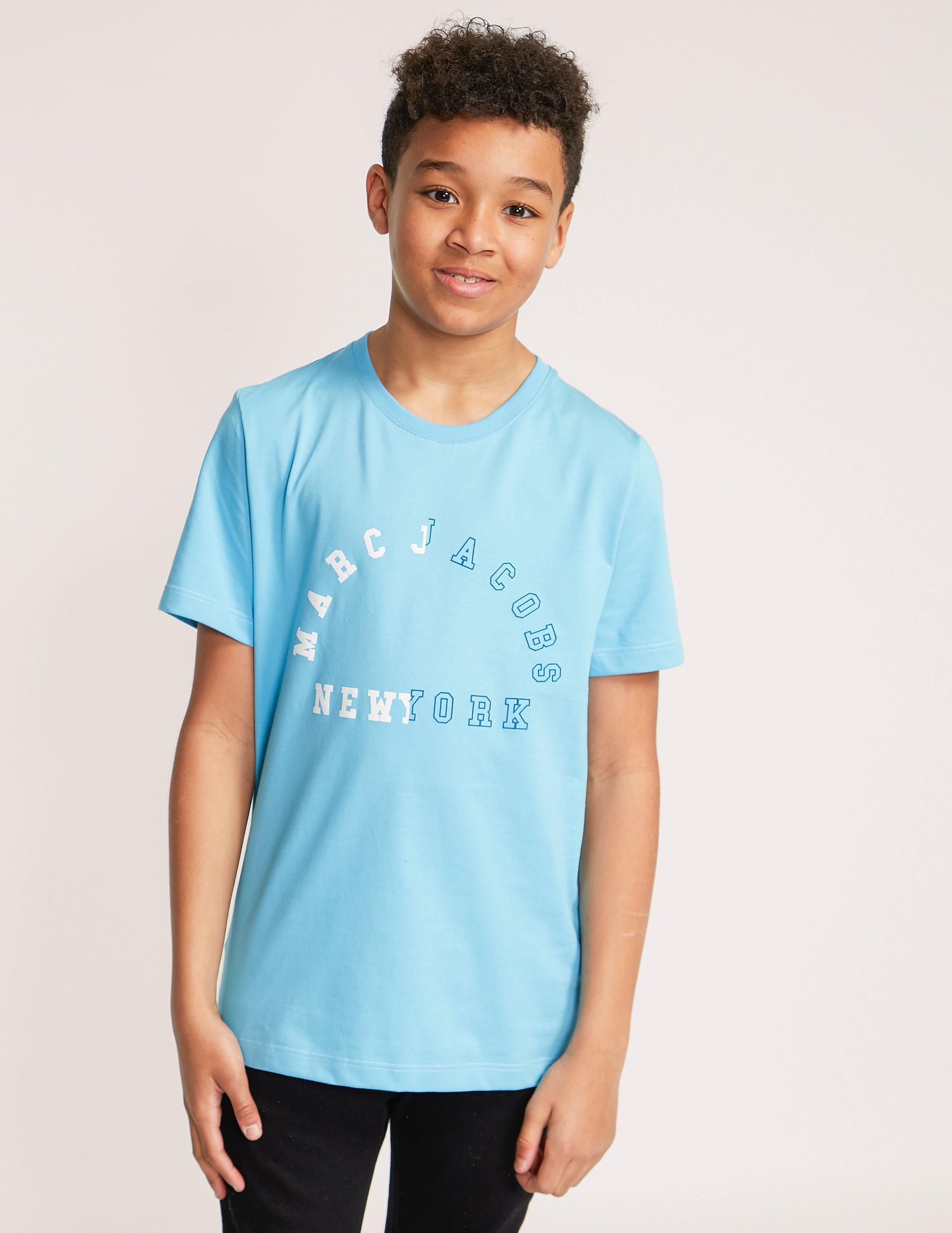 Little Marc Jacobs Arch Logo Short Sleeve T-Shirt