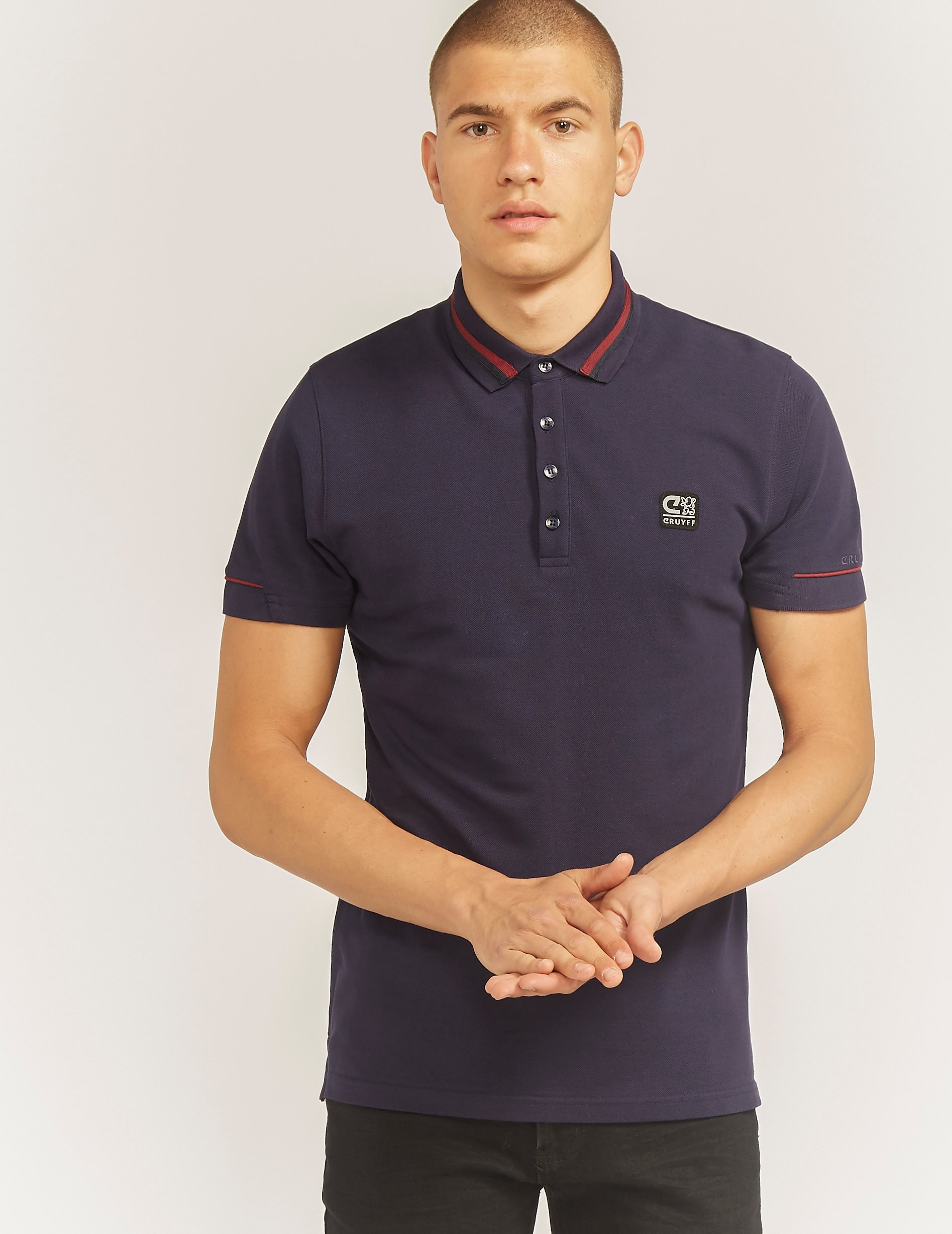 Cruyff Bretton Short Sleeve Polo Shirt