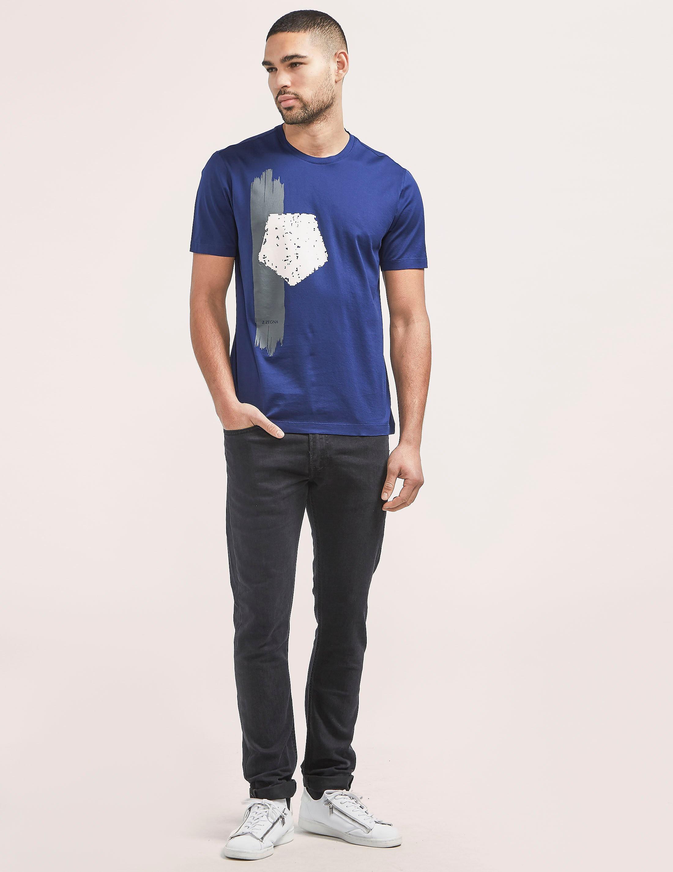 Z Zegna Paint Strip T-Shirt