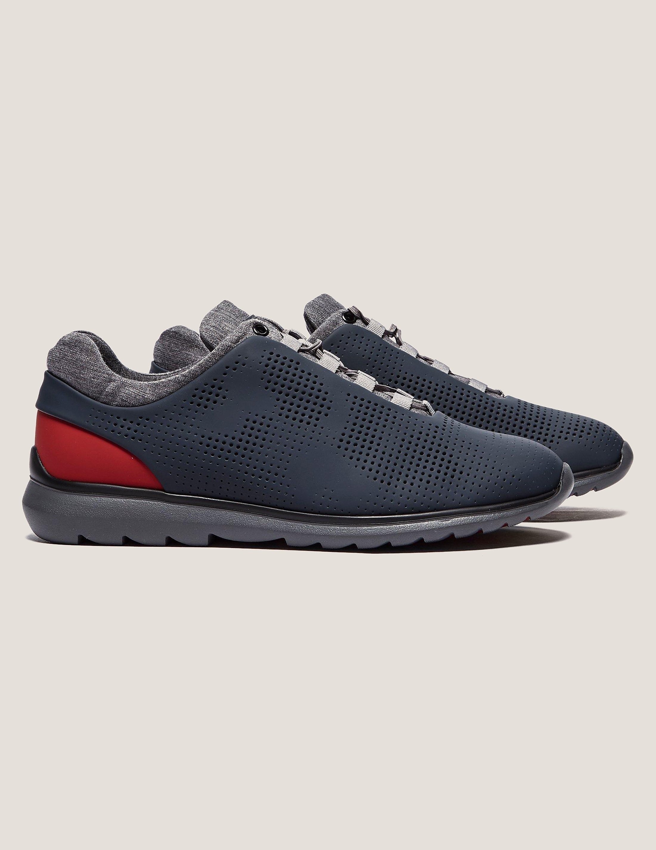 Z Zegna Perforated Runner