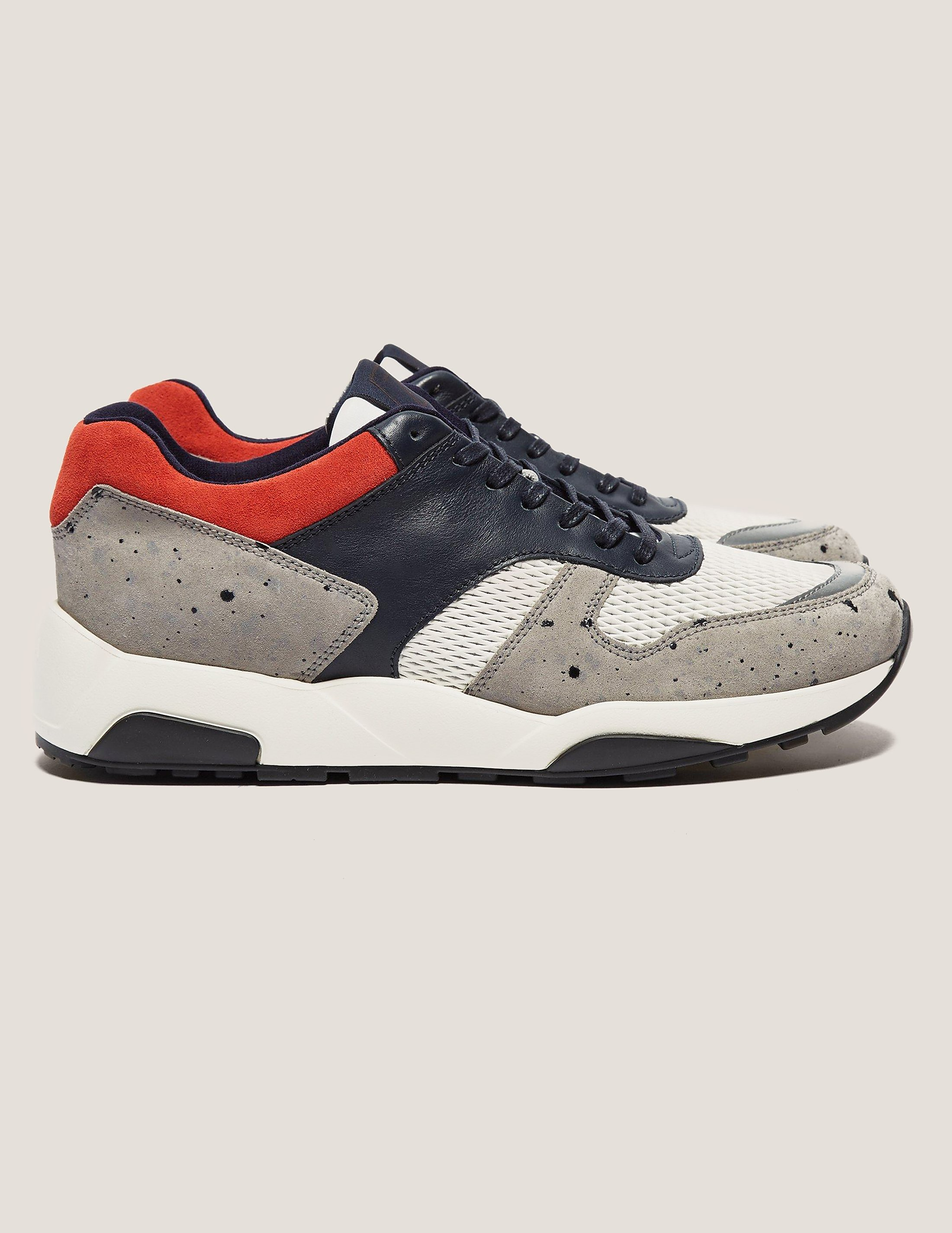 Z Zegna Speckled Trainer