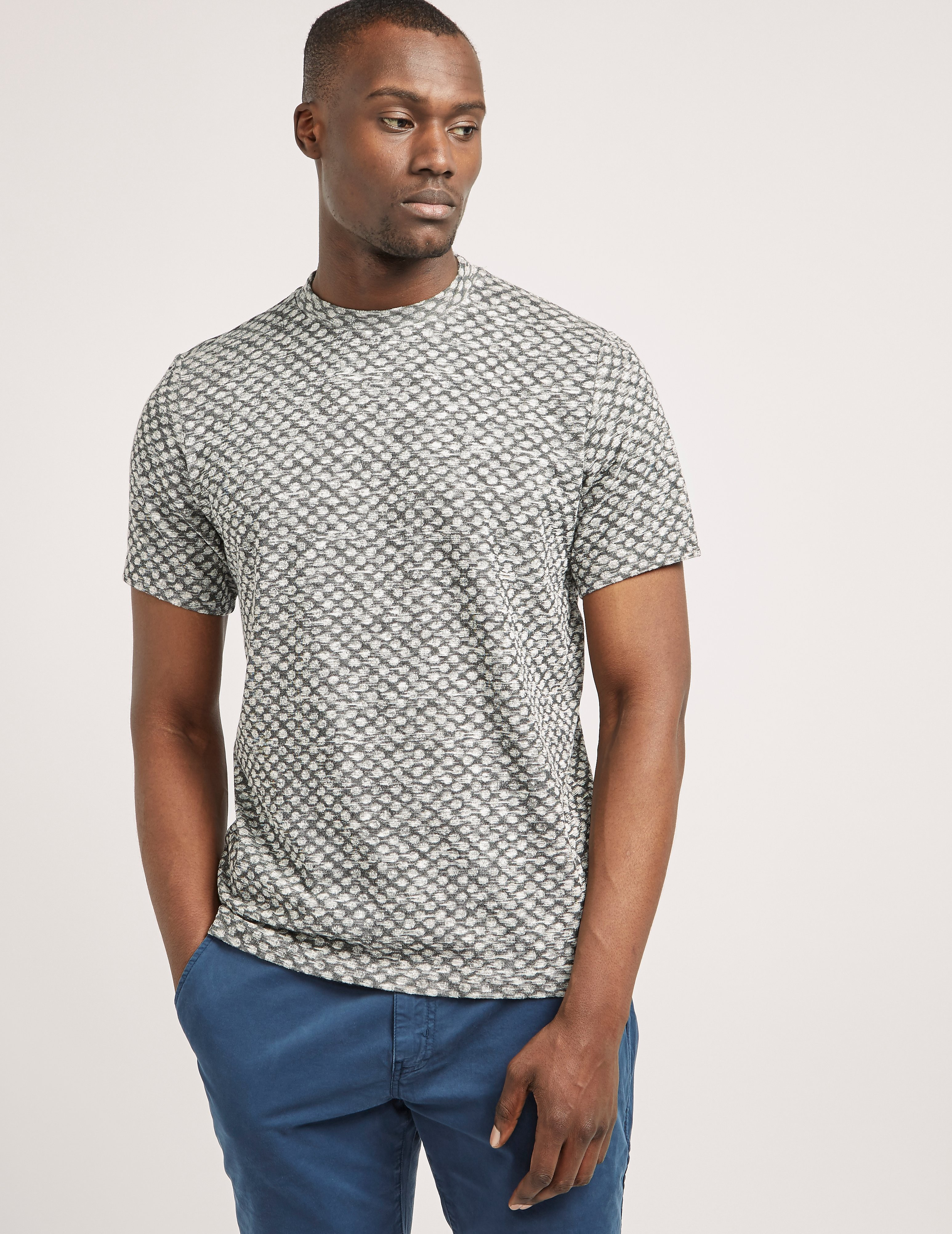 Paul Smith Jacquard Spot Short Sleeve T-Shirt