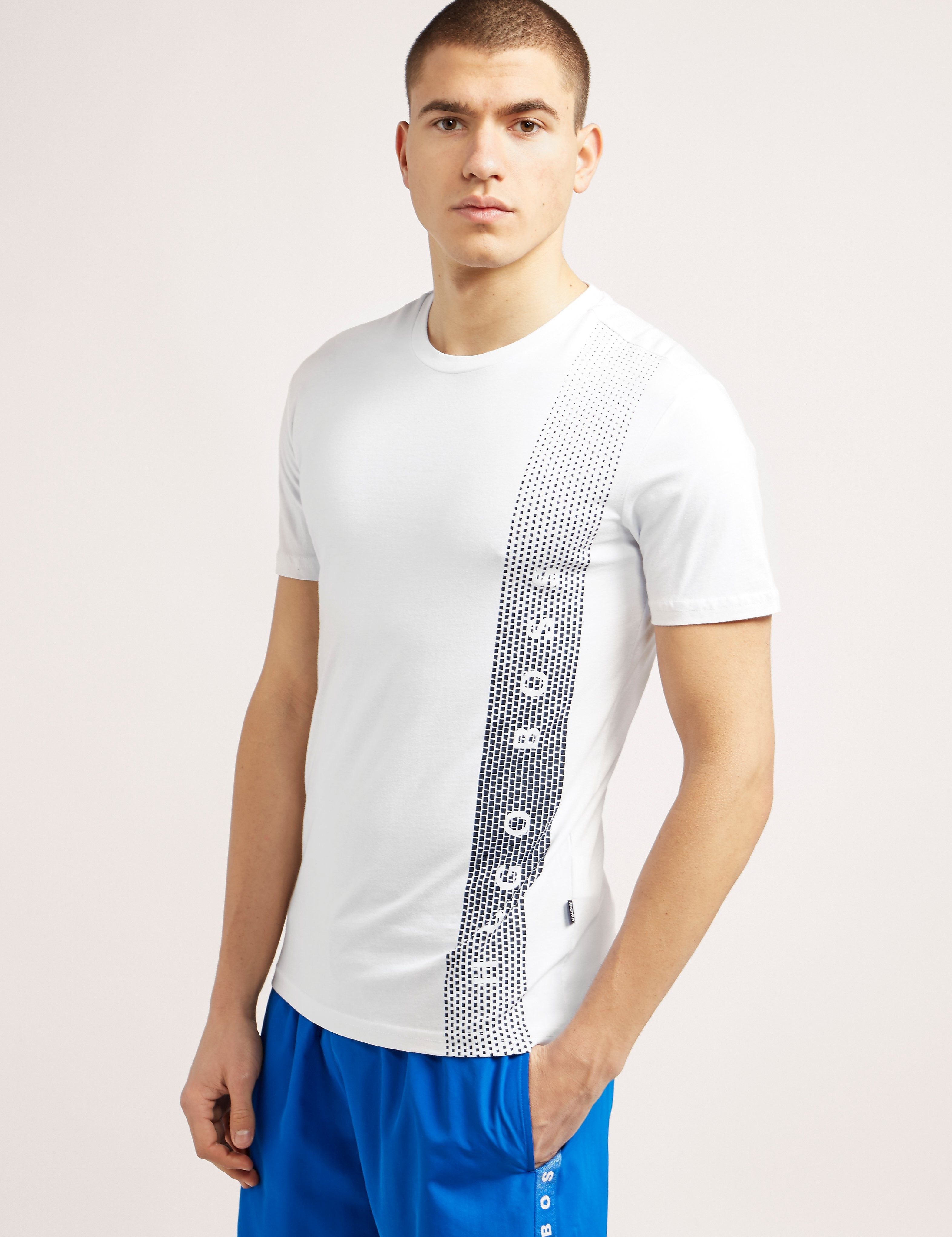 BOSS UV Stripe T-Shirt