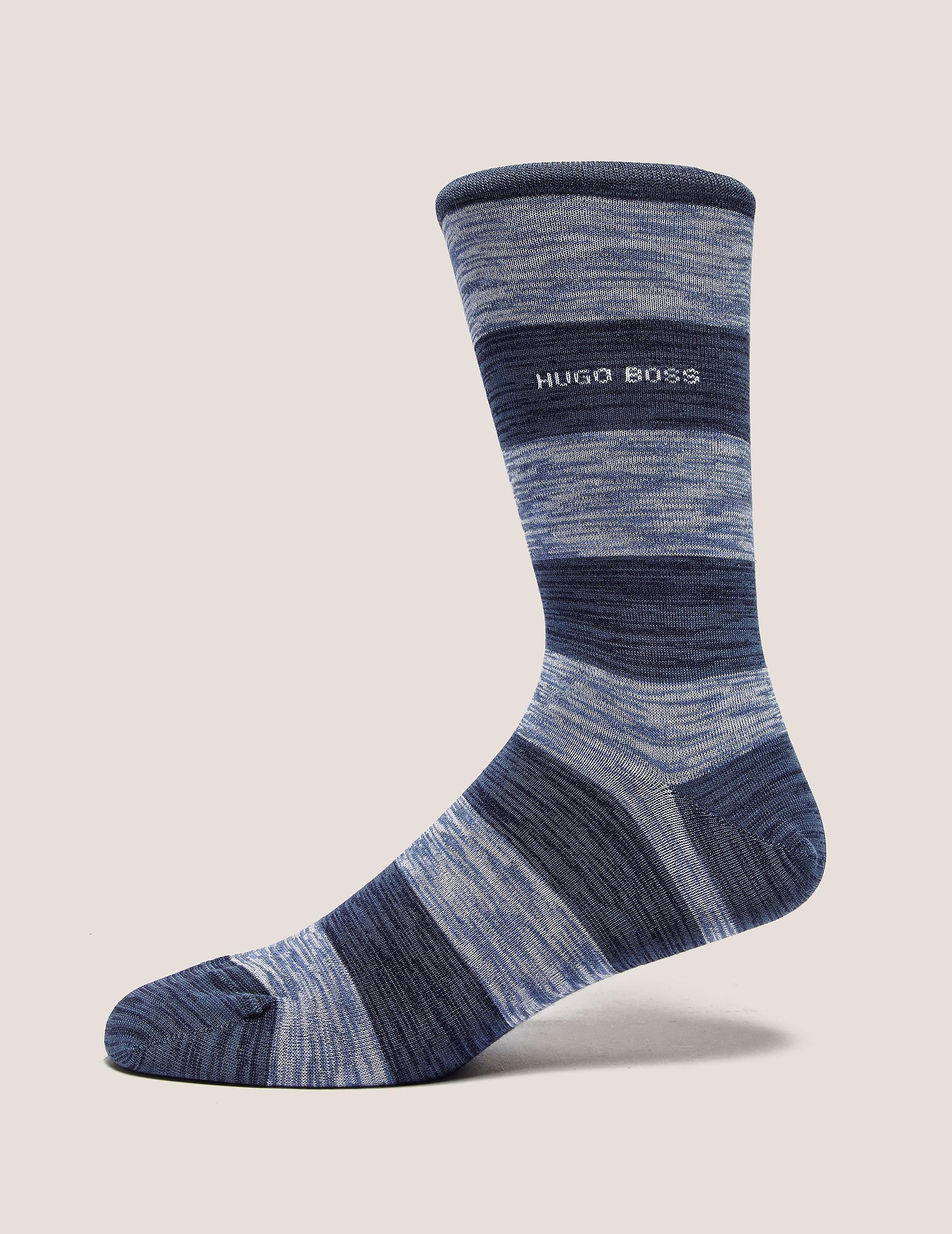 BOSS Slub Stripe Socks