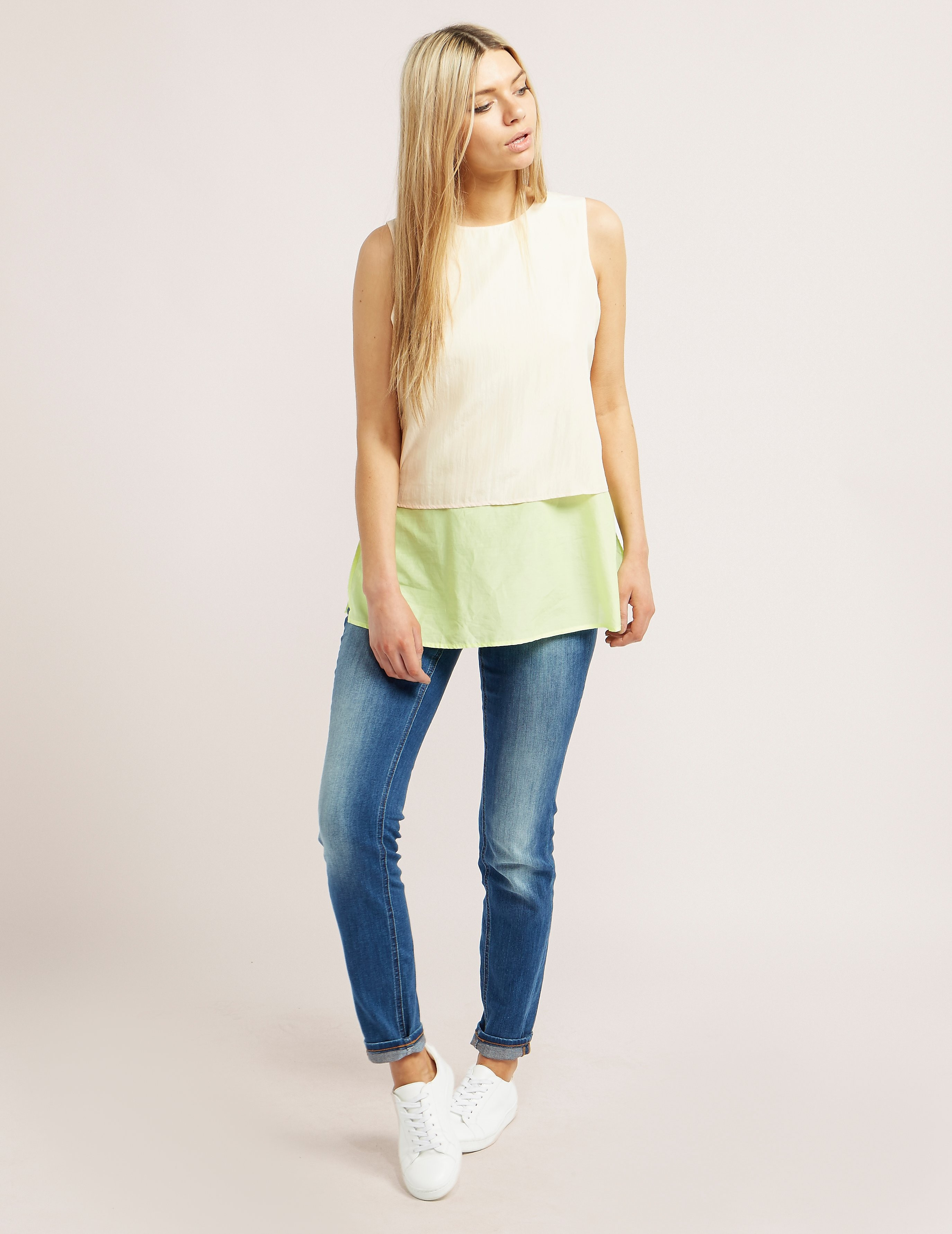 BOSS Orange Civille Layered Top