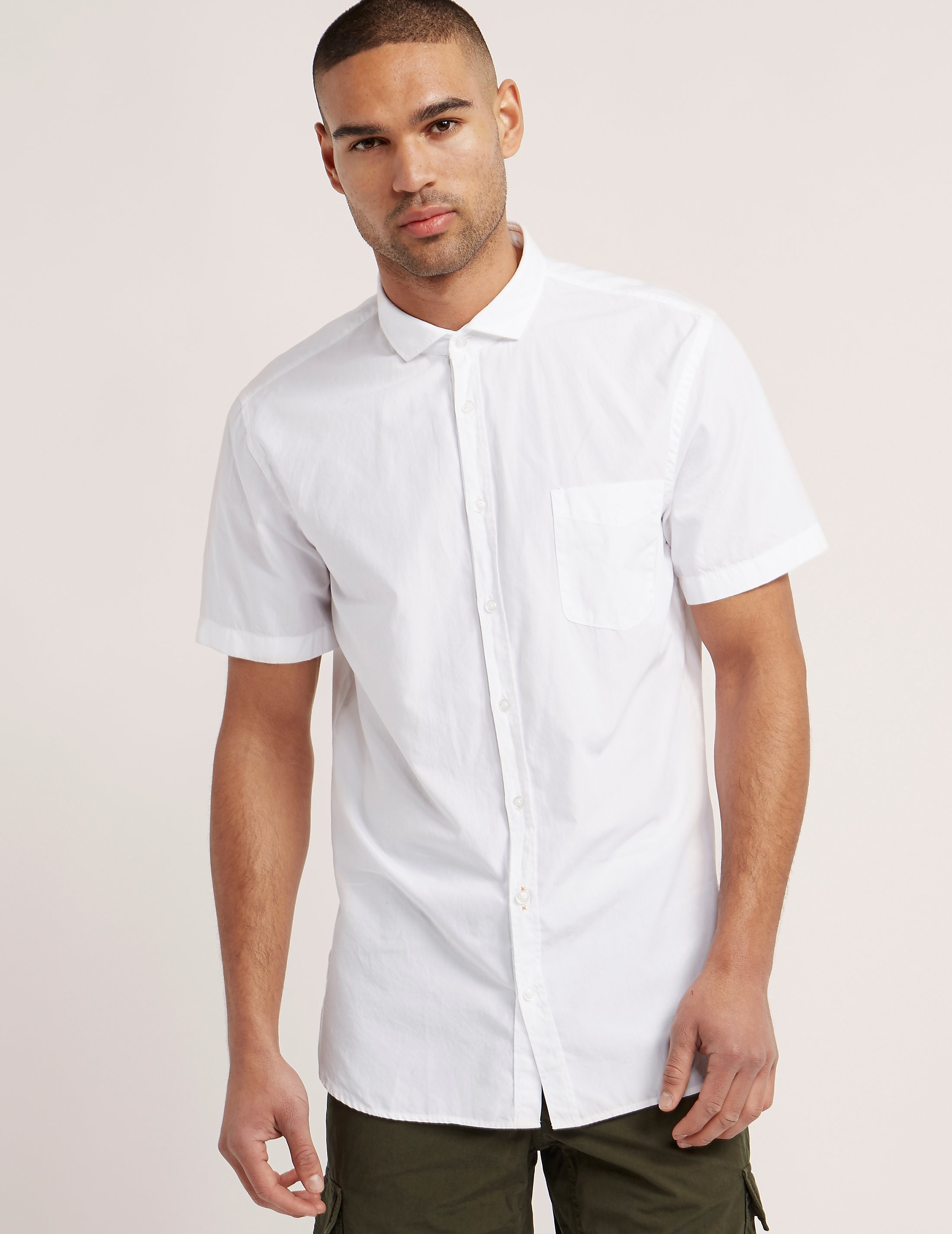 BOSS Orange Poplin Shirt