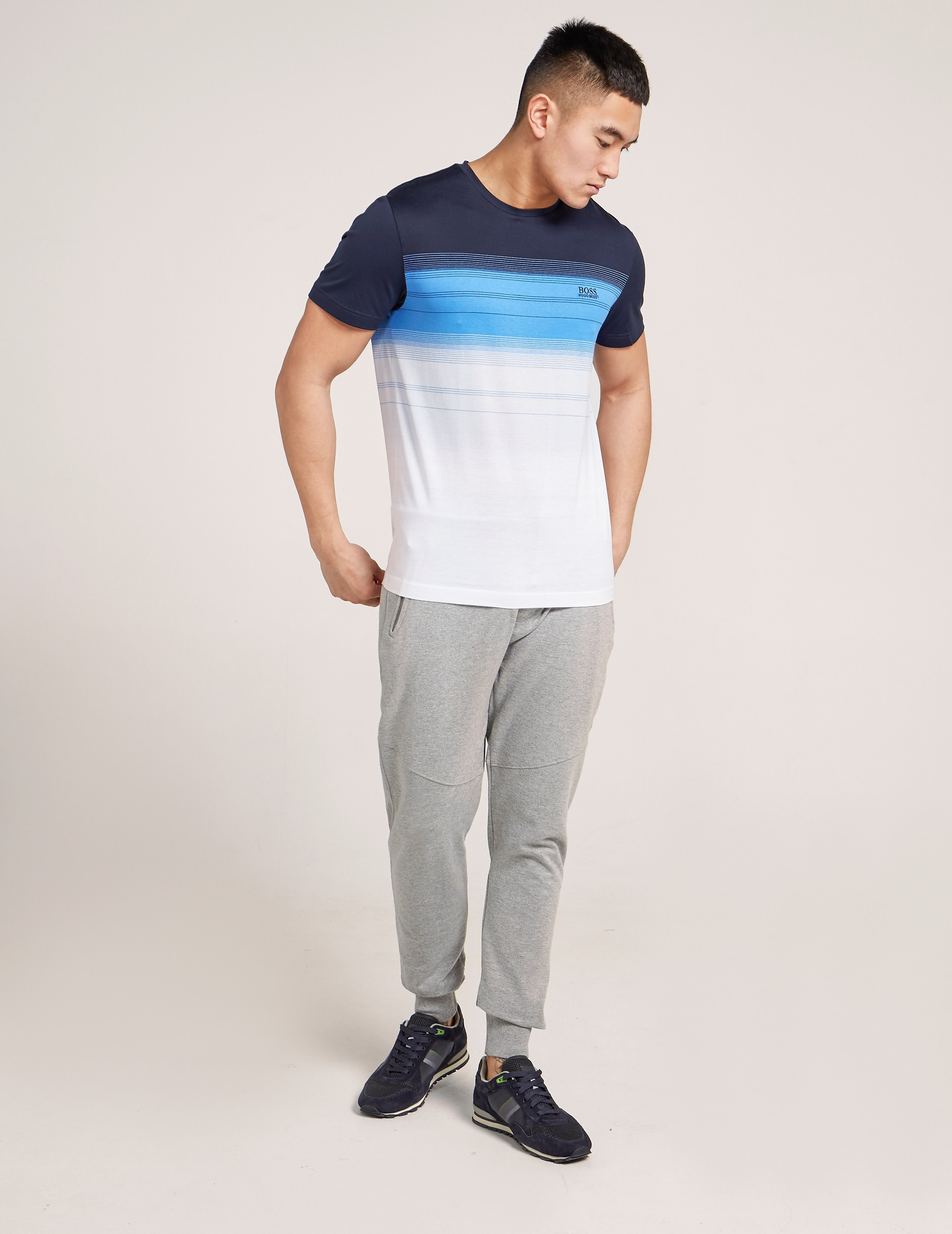 BOSS Graduation Stripe T-Shirt