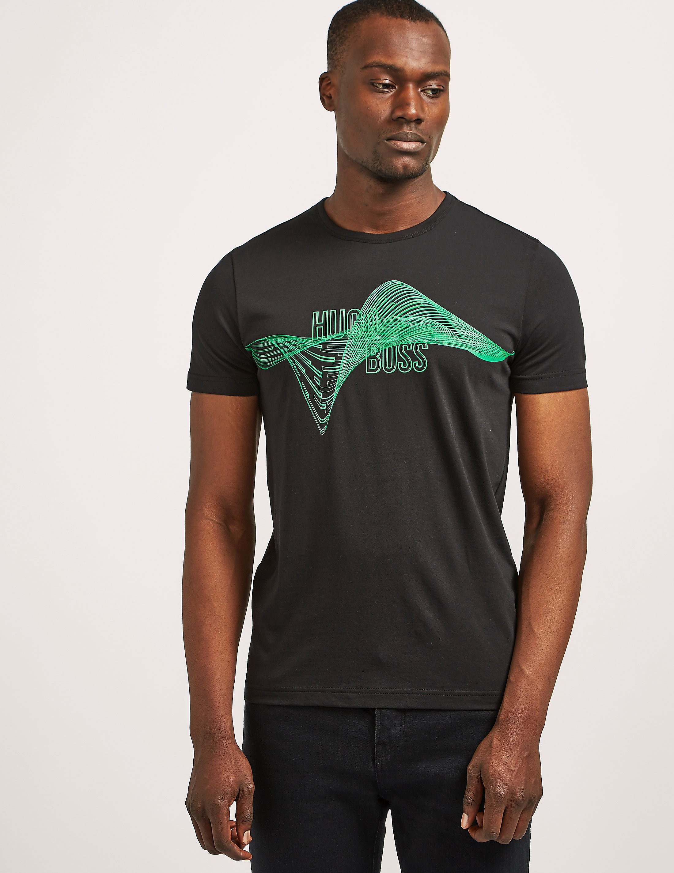BOSS Green Helix Print T-Shirt