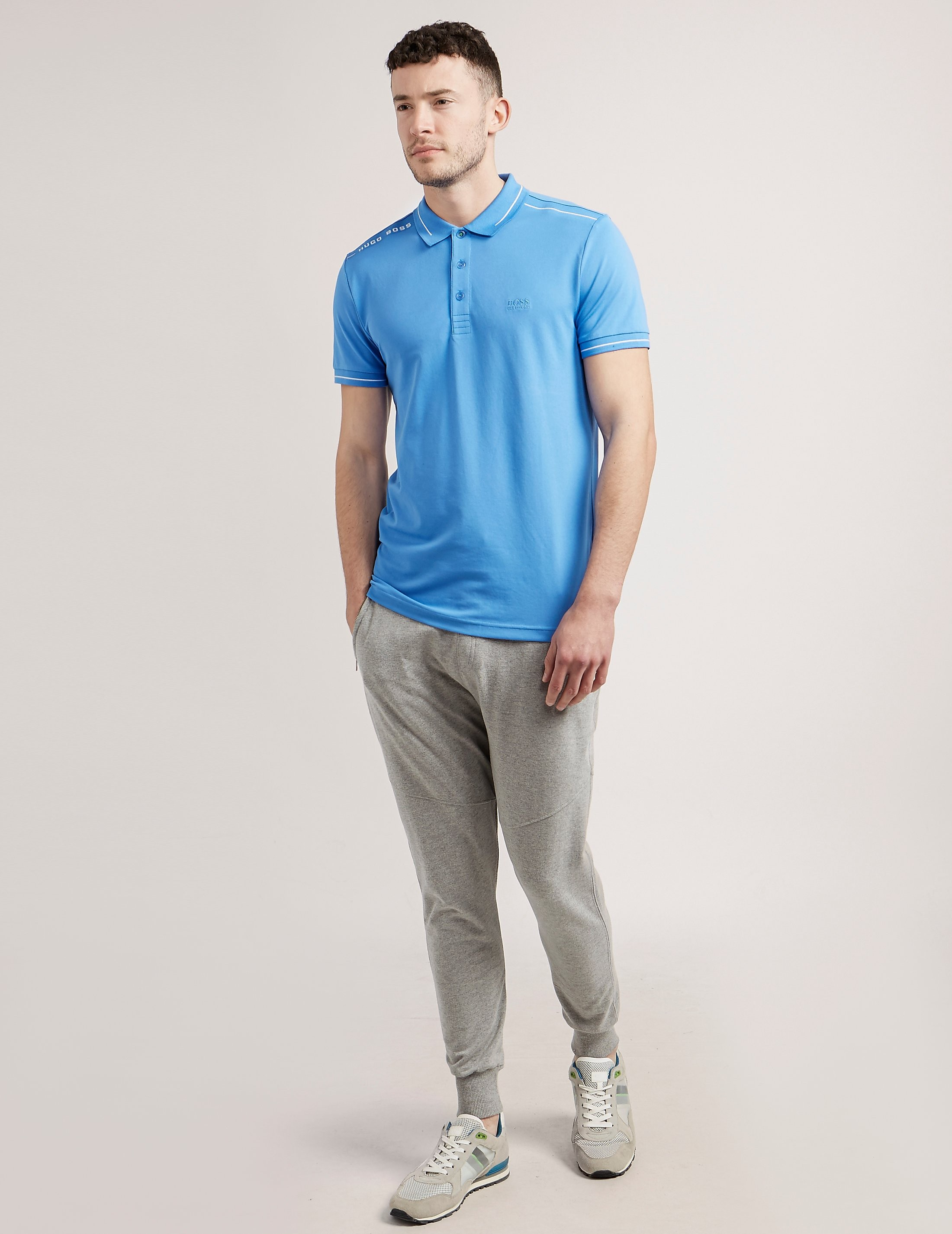 BOSS Green Paule Short Sleeve Polo Shirt
