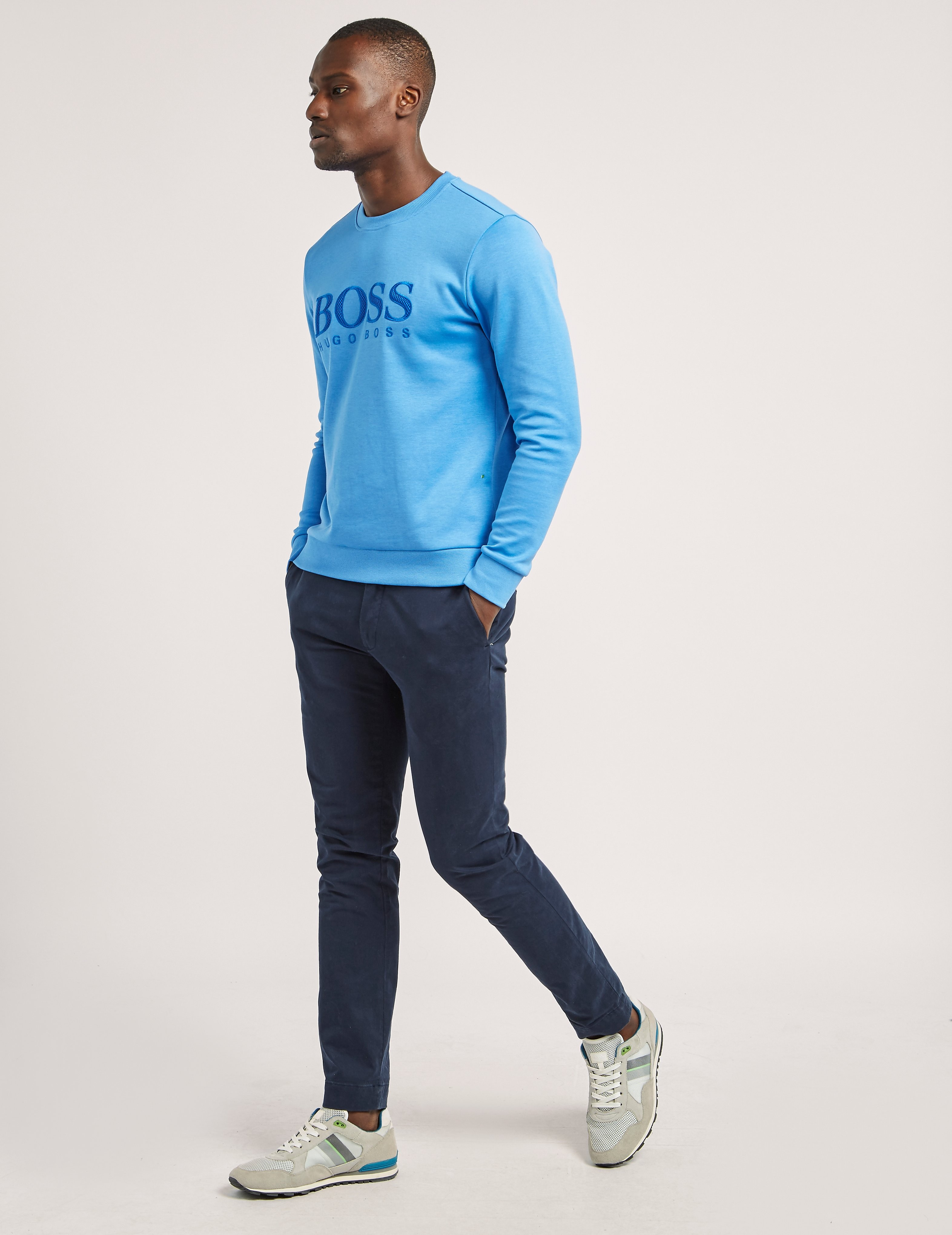 BOSS Green Salbo Crew Neck Sweater