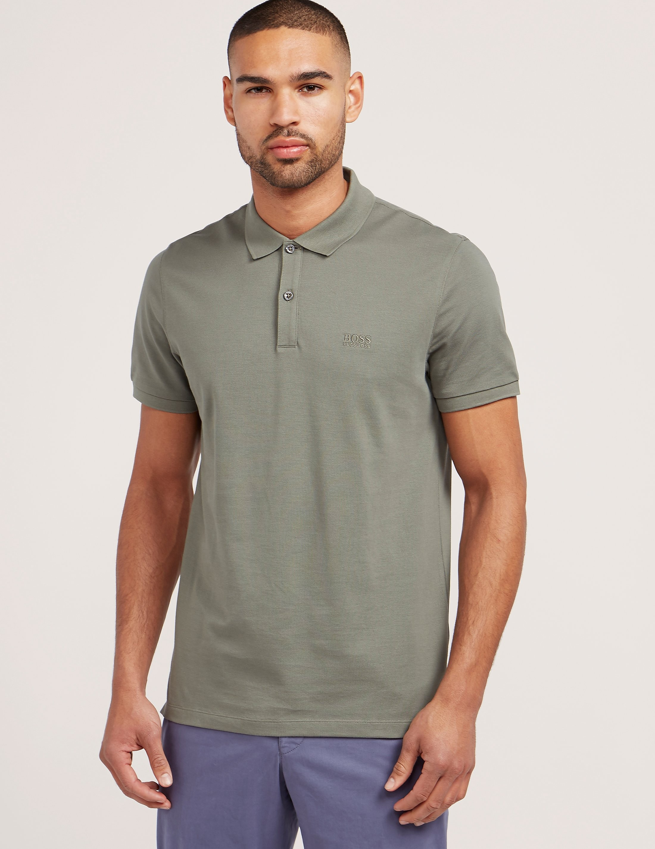 BOSS Basic Short Sleeve Polo Shirt