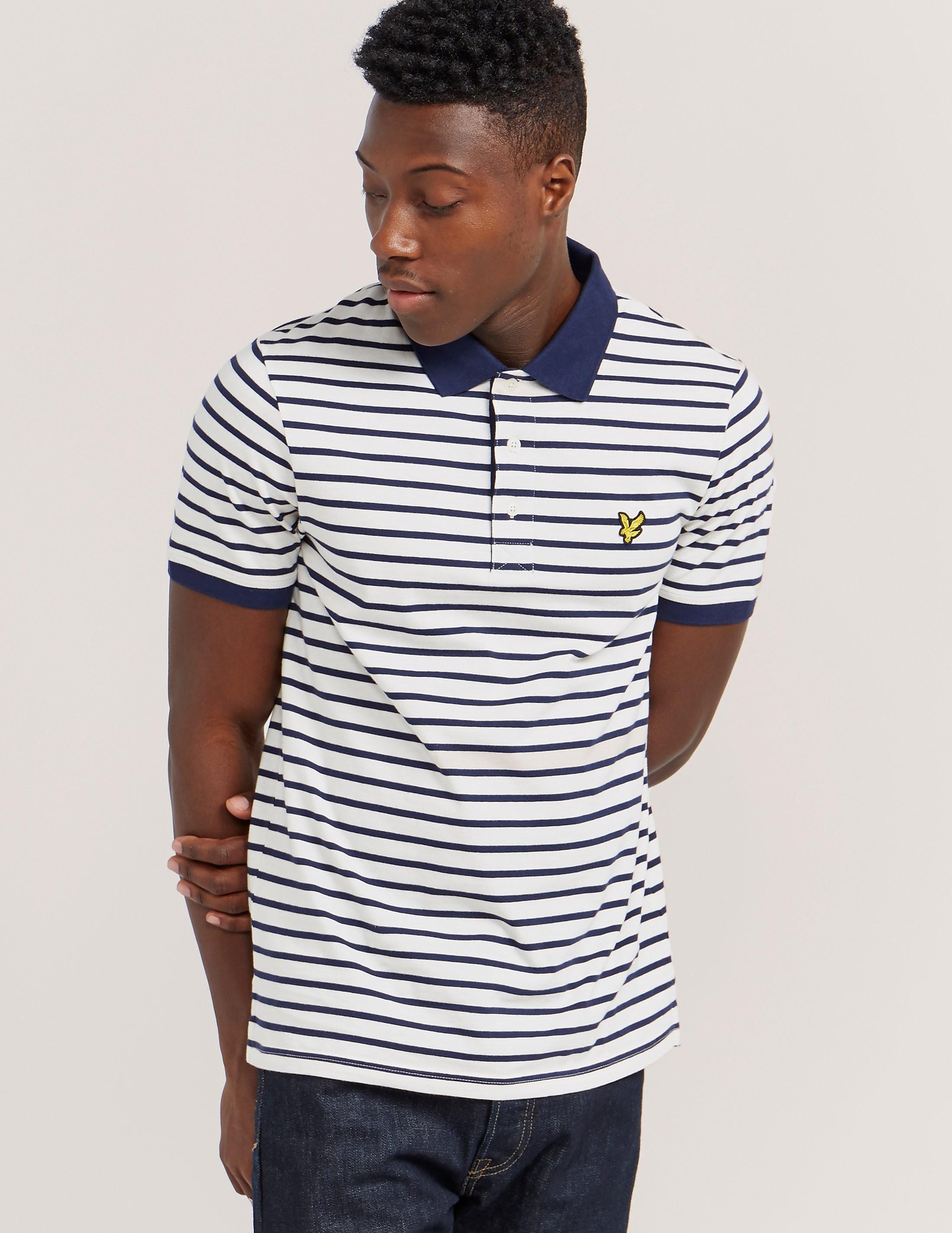 Lyle & Scott Breton Stripe Polo Shirt