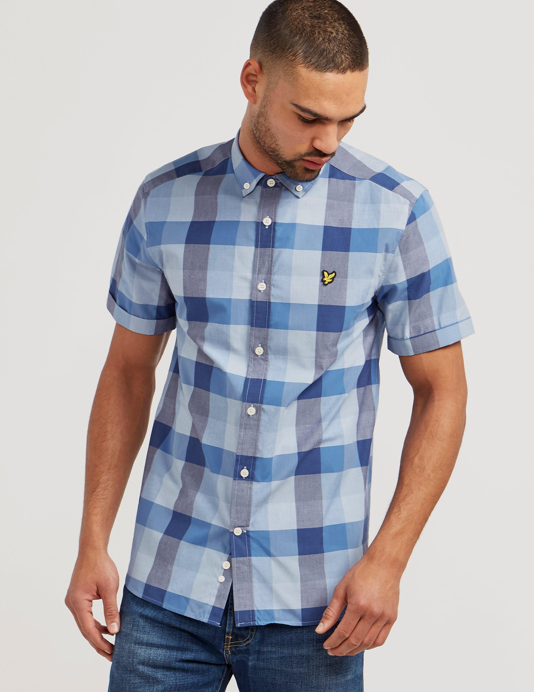 Lyle & Scott Bold Check Short Sleeve Shirt