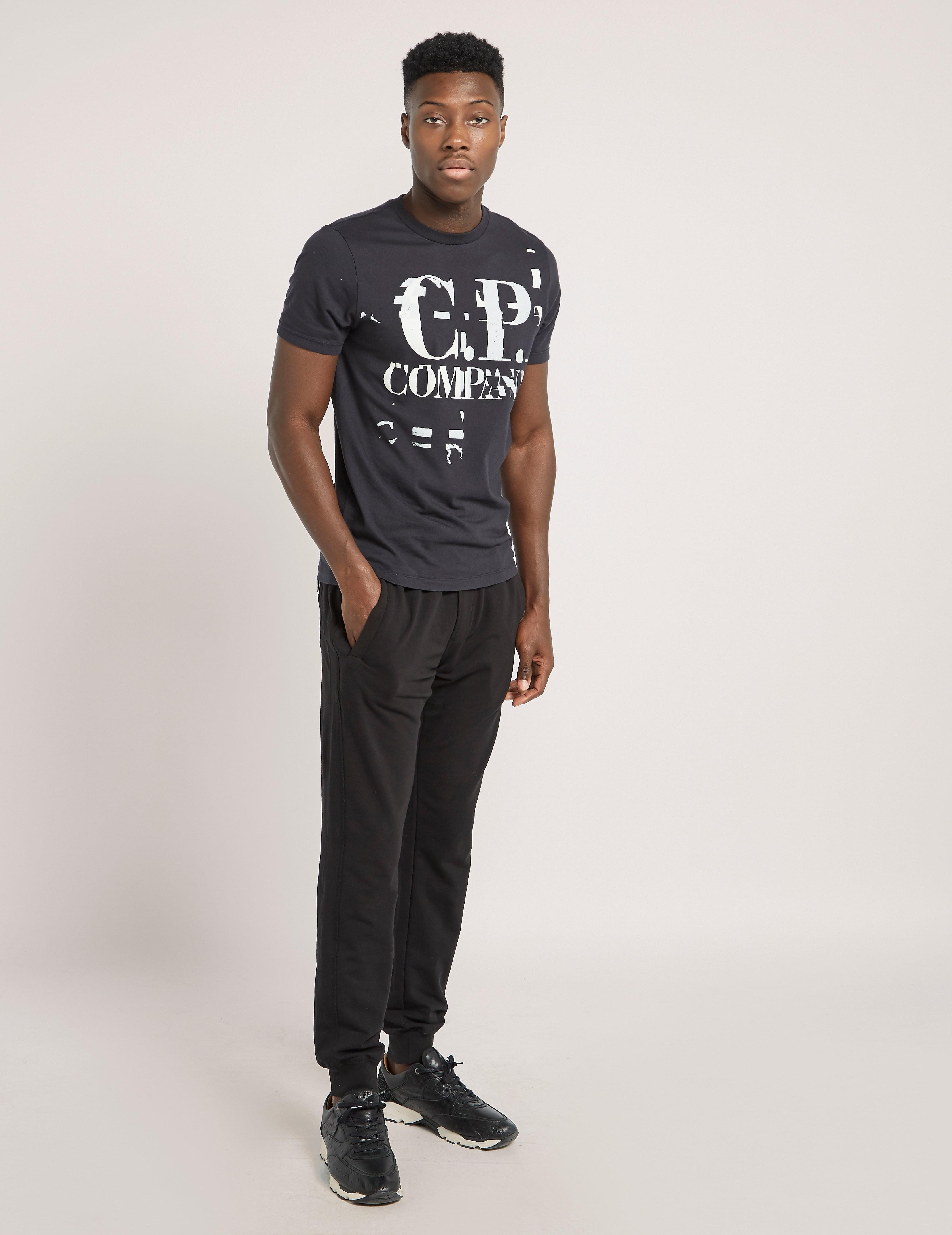 CP Company Large Logo Short Sleeve T-Shirt