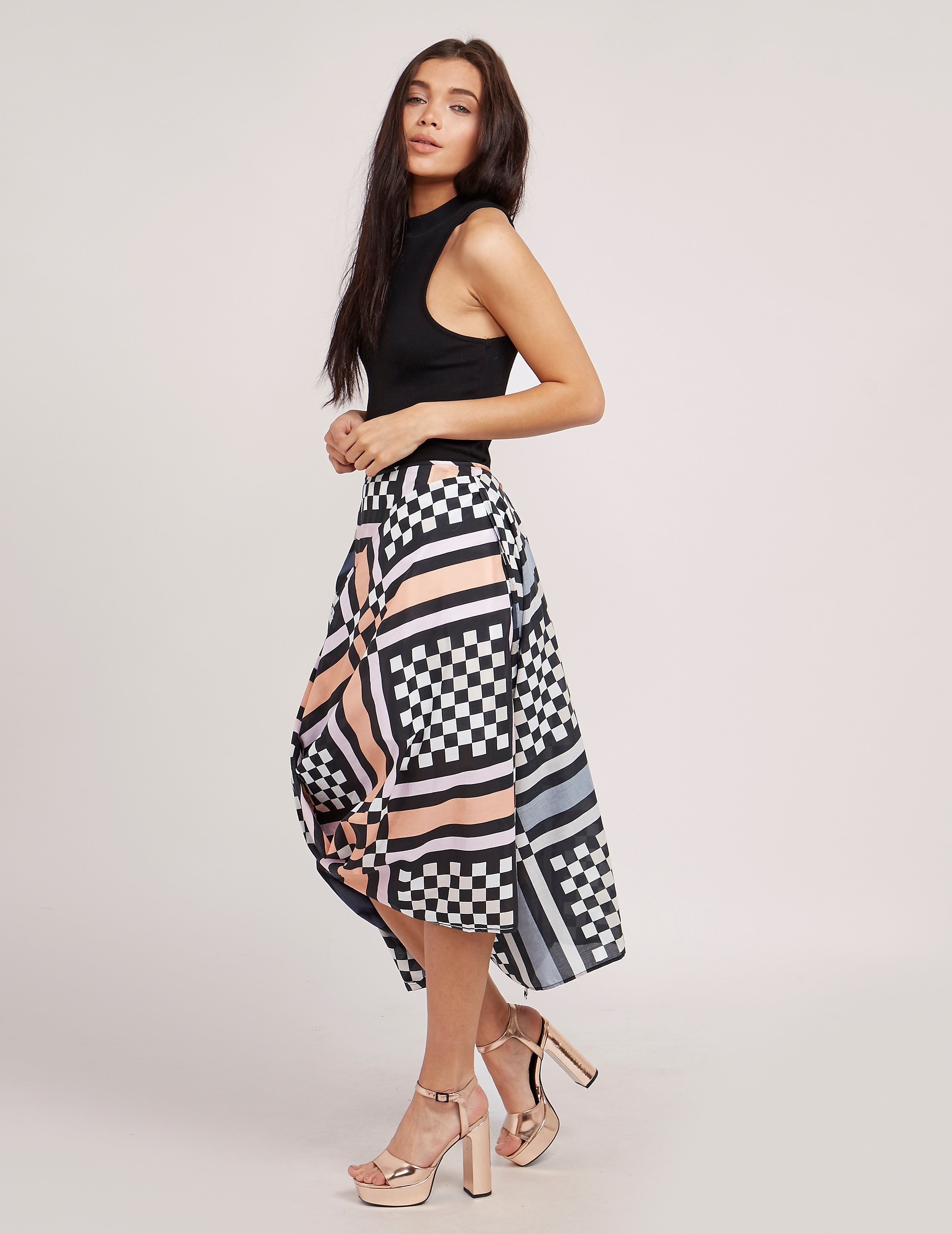 Vivienne Westwood Anglomania Eight Nomad Skirt