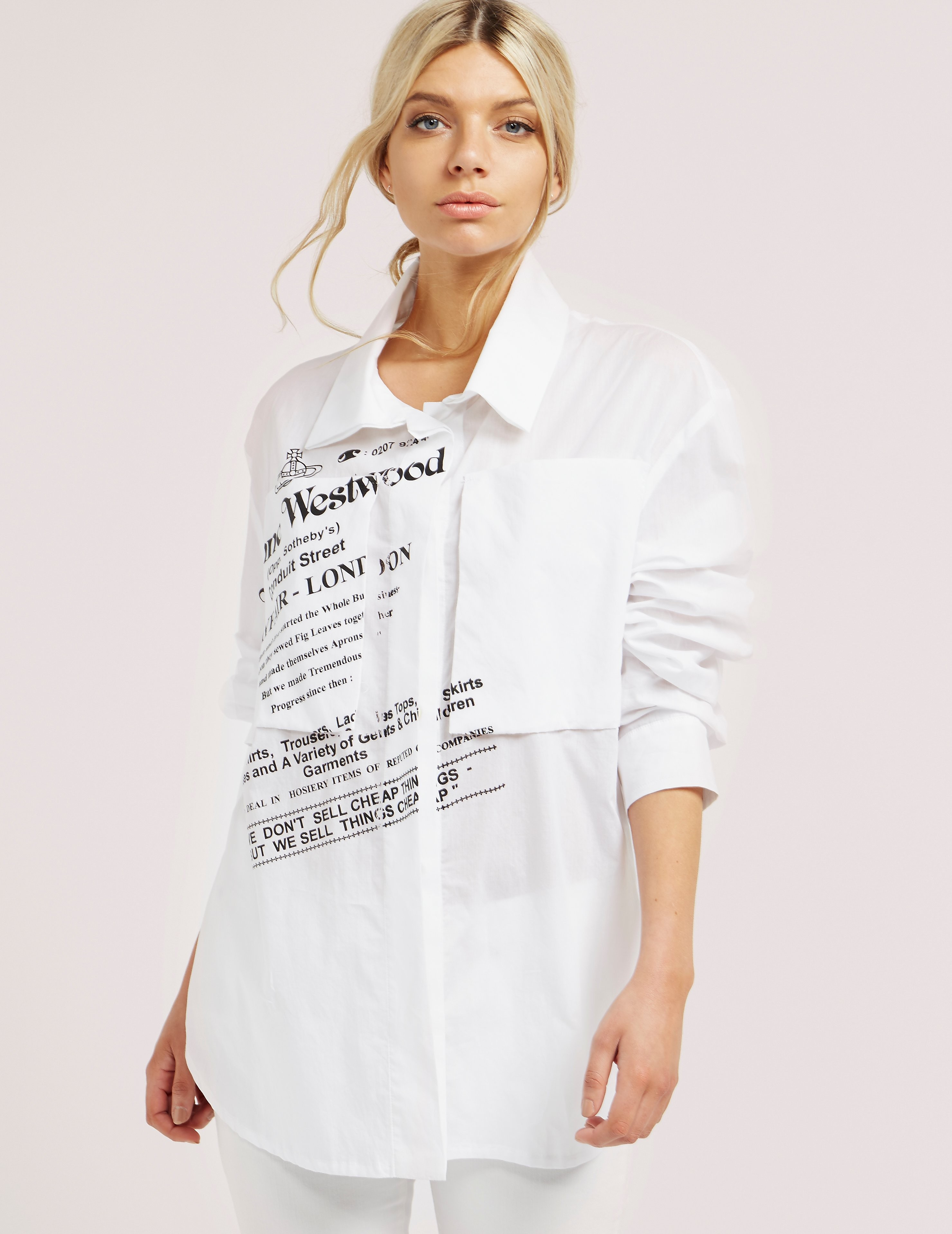 Vivienne Westwood Anglomania Long Sleeve Nomad Shirt