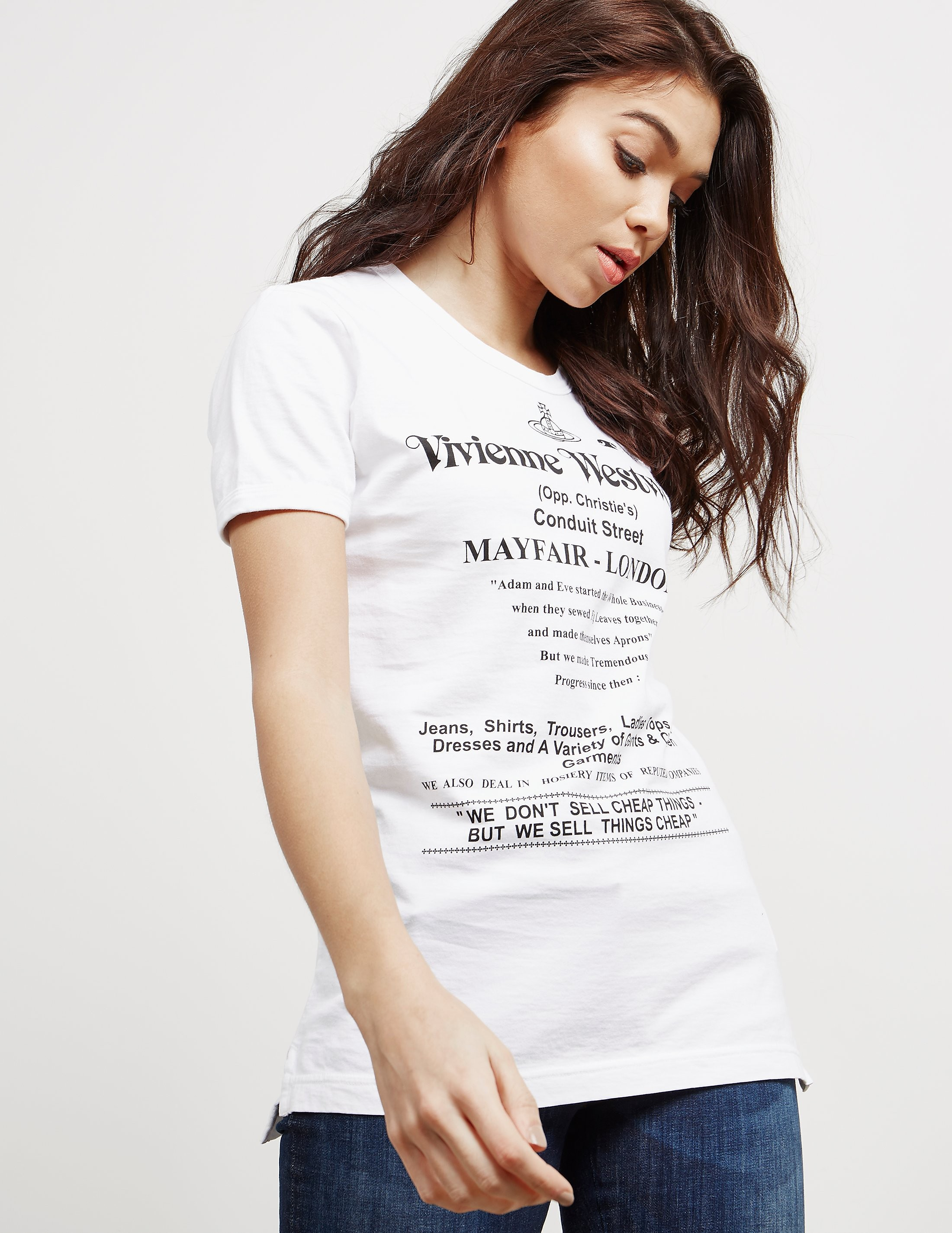 Vivienne Westwood Anglomania Cheap Things Short Sleeve T-Shirt