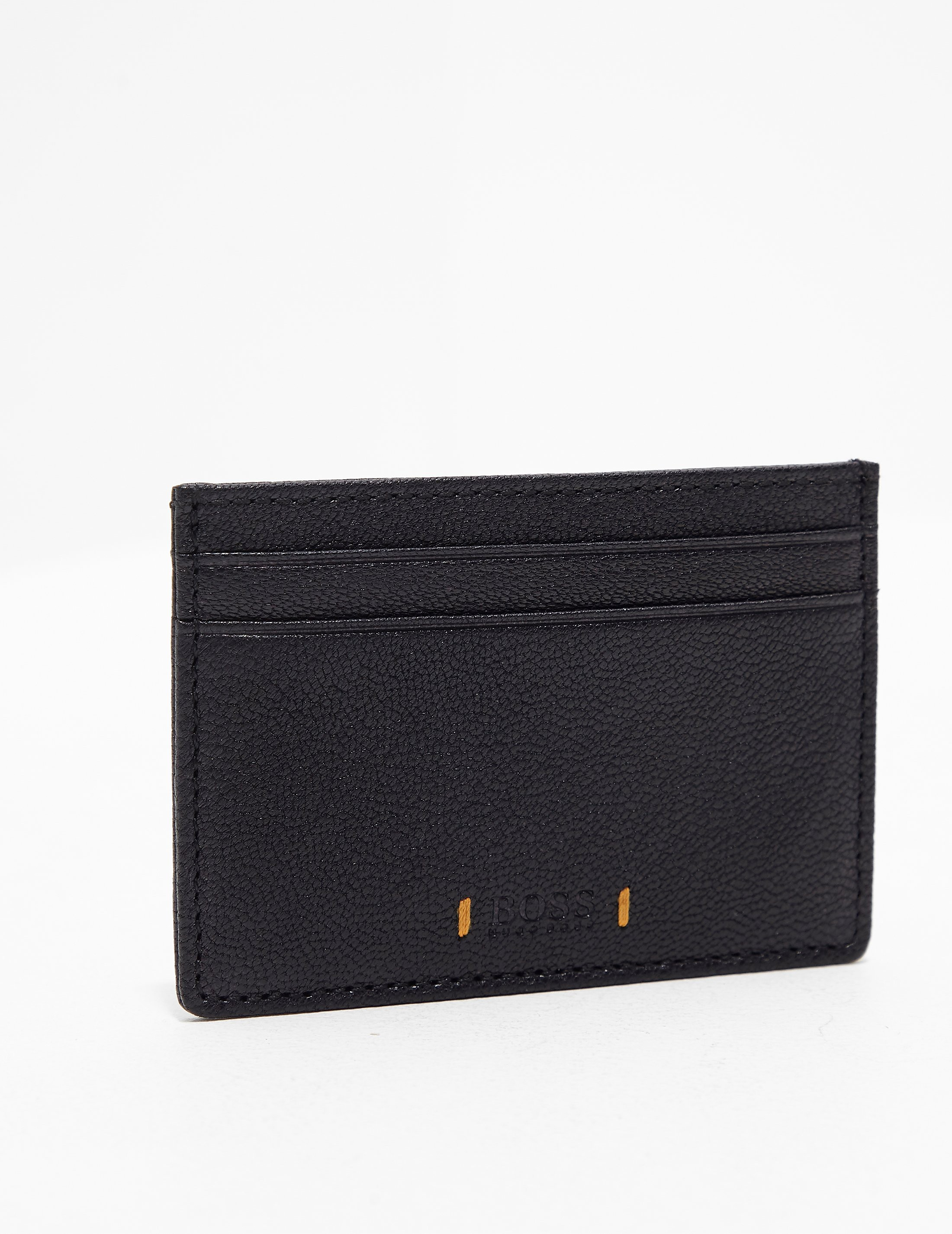 BOSS Orange Leather Card Holder