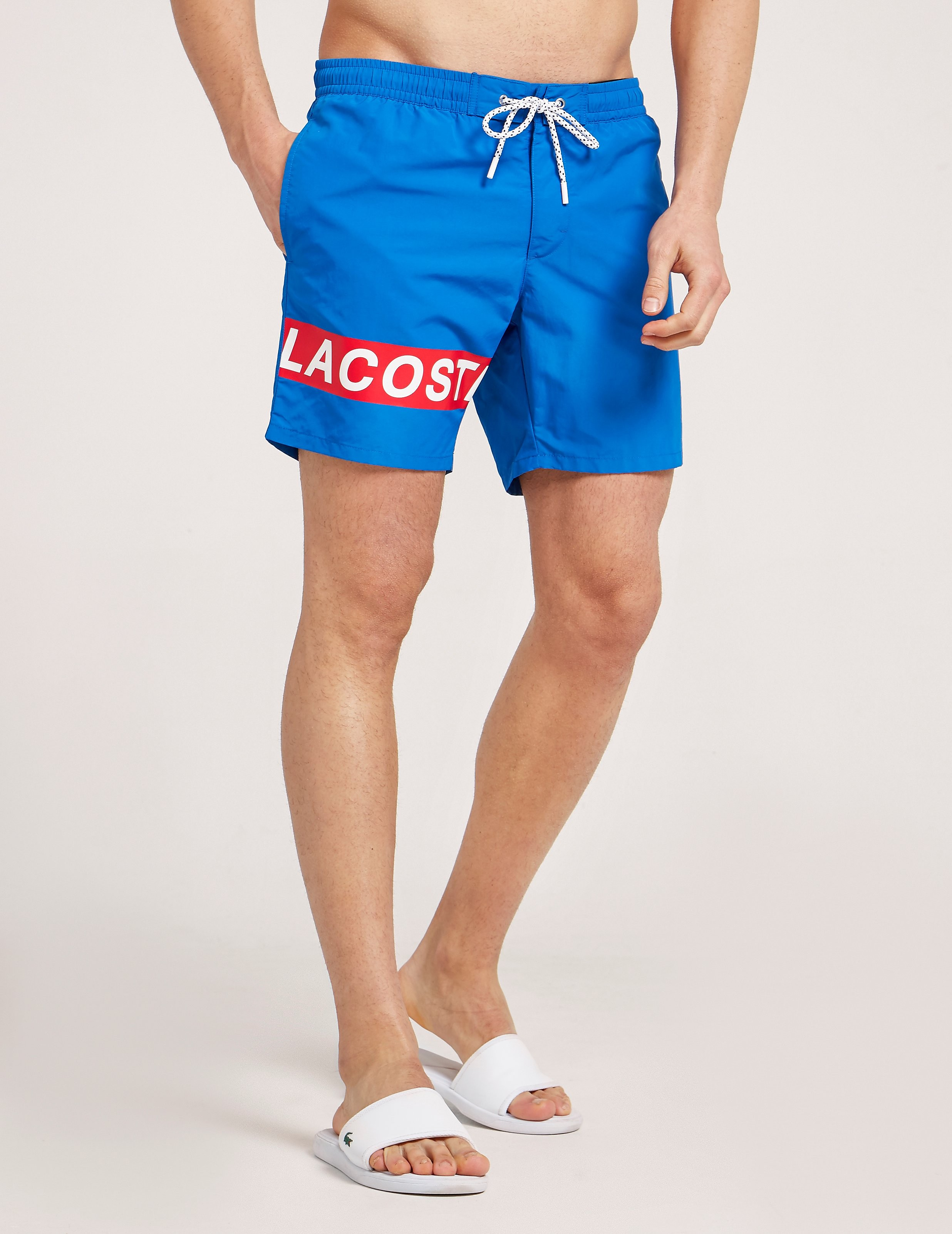 Lacoste Branded Swim Shorts