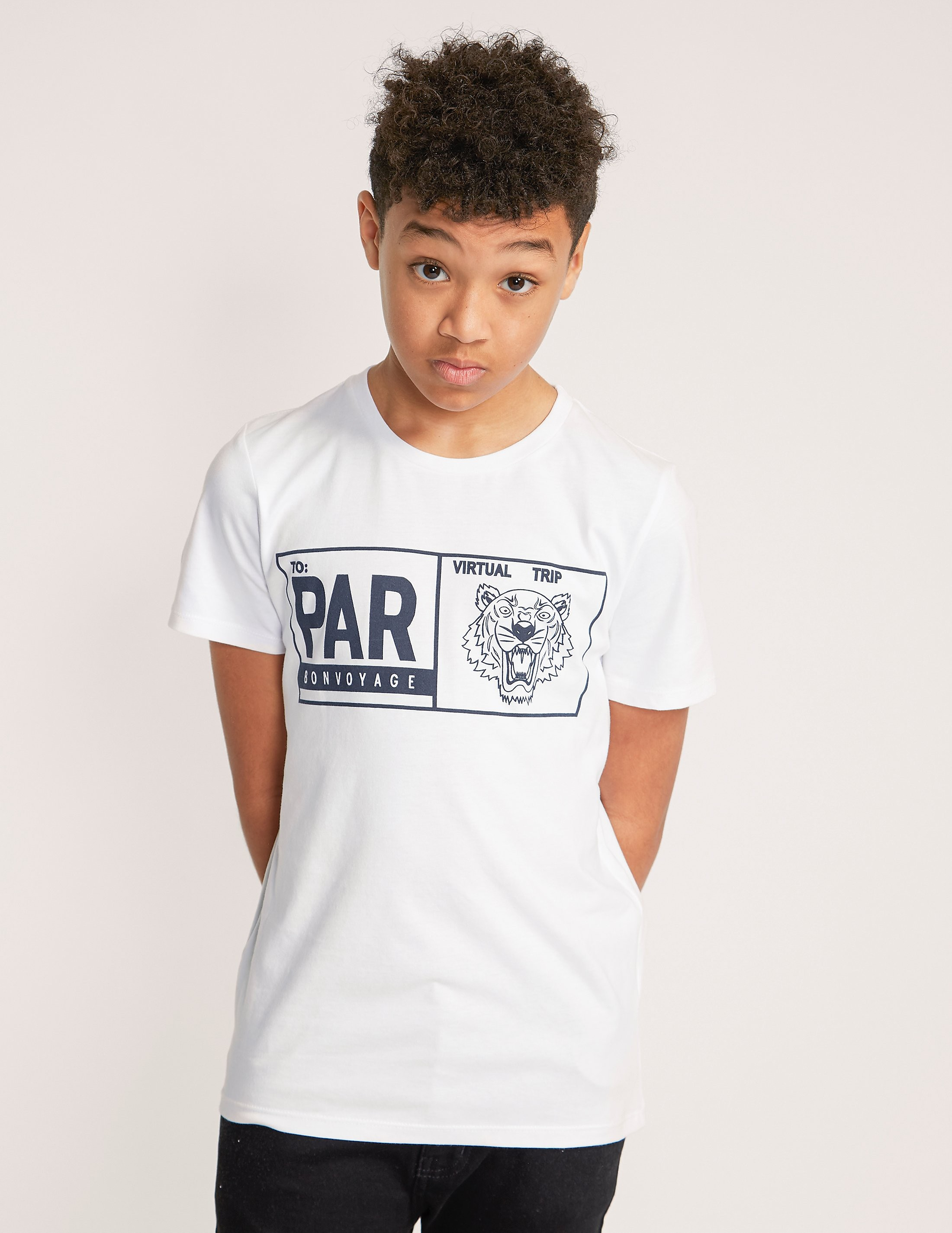 KENZO Short Sleeve Tiger Box T-Shirt