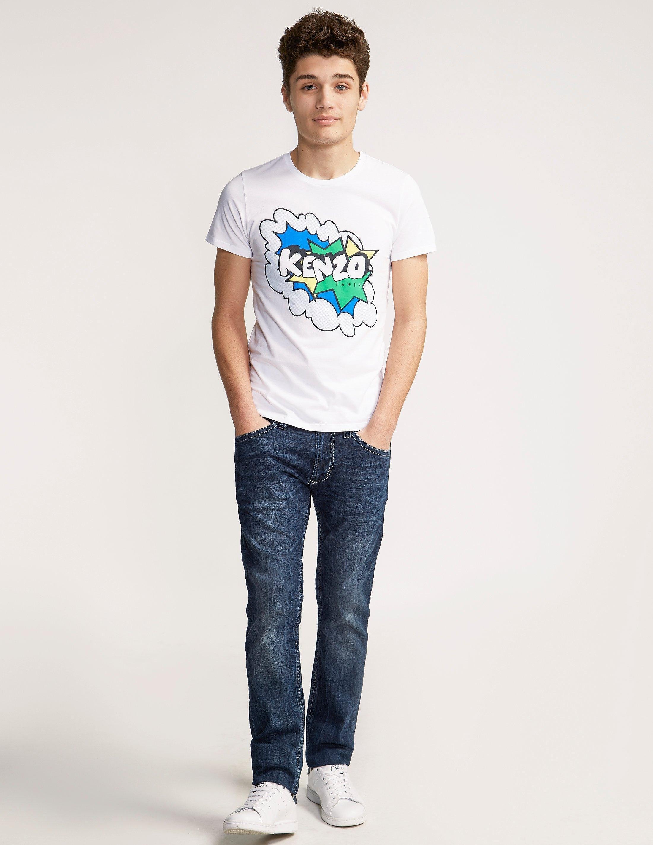 KENZO Short Sleeve Bang Logo T-Shirt