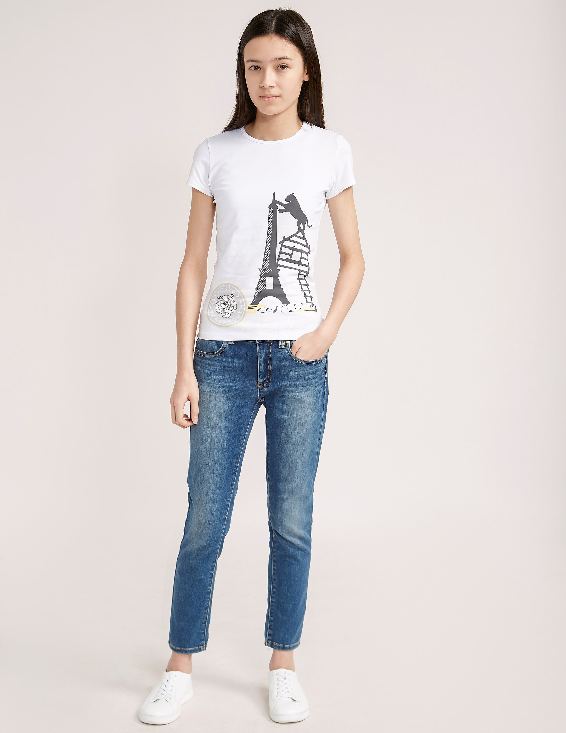 KENZO Short Sleeve Eiffel Tower T-Shirt