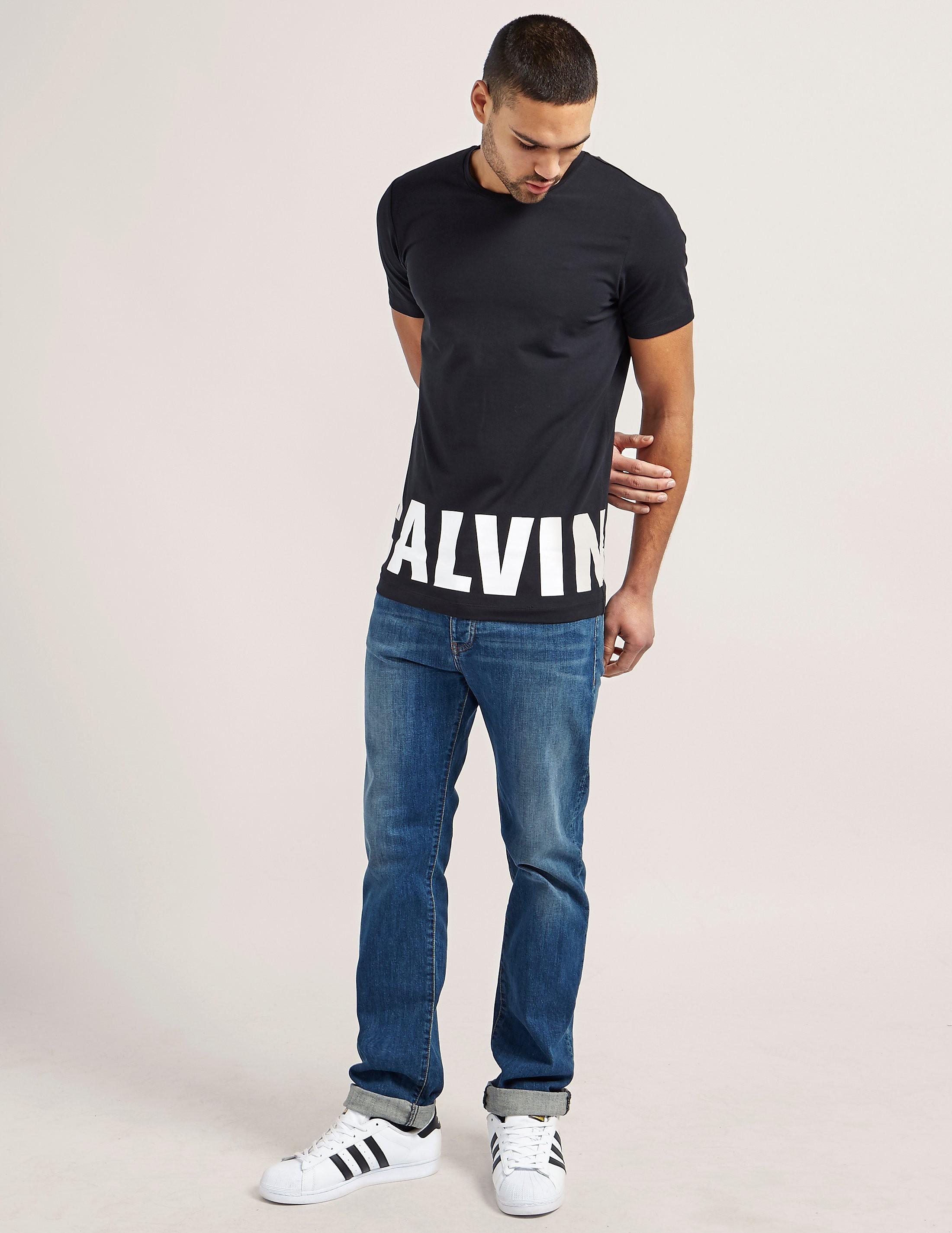 Calvin Klein Block Logo T-Shirt