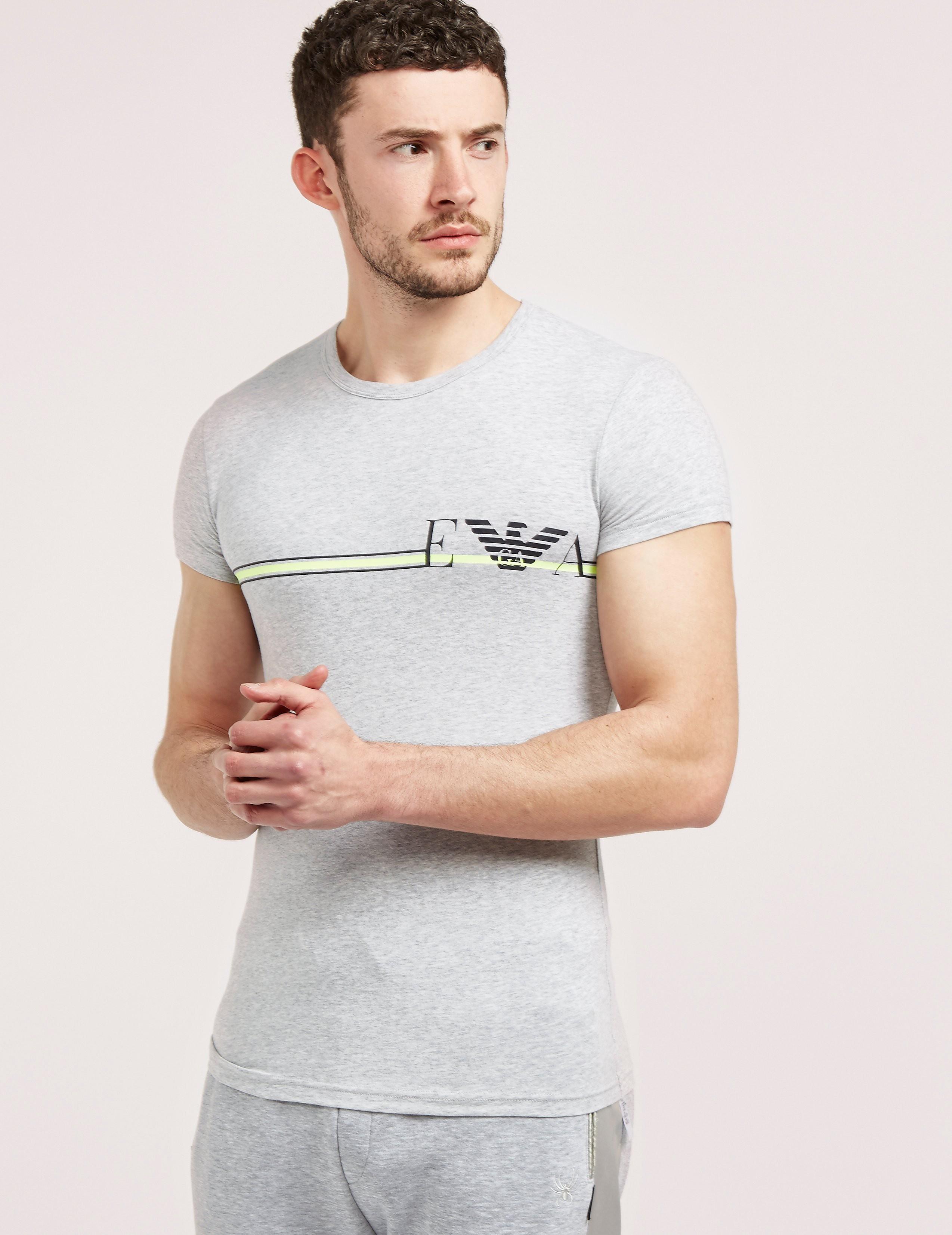 Emporio Armani Pop Line Crew Short Sleeve T-Shirt