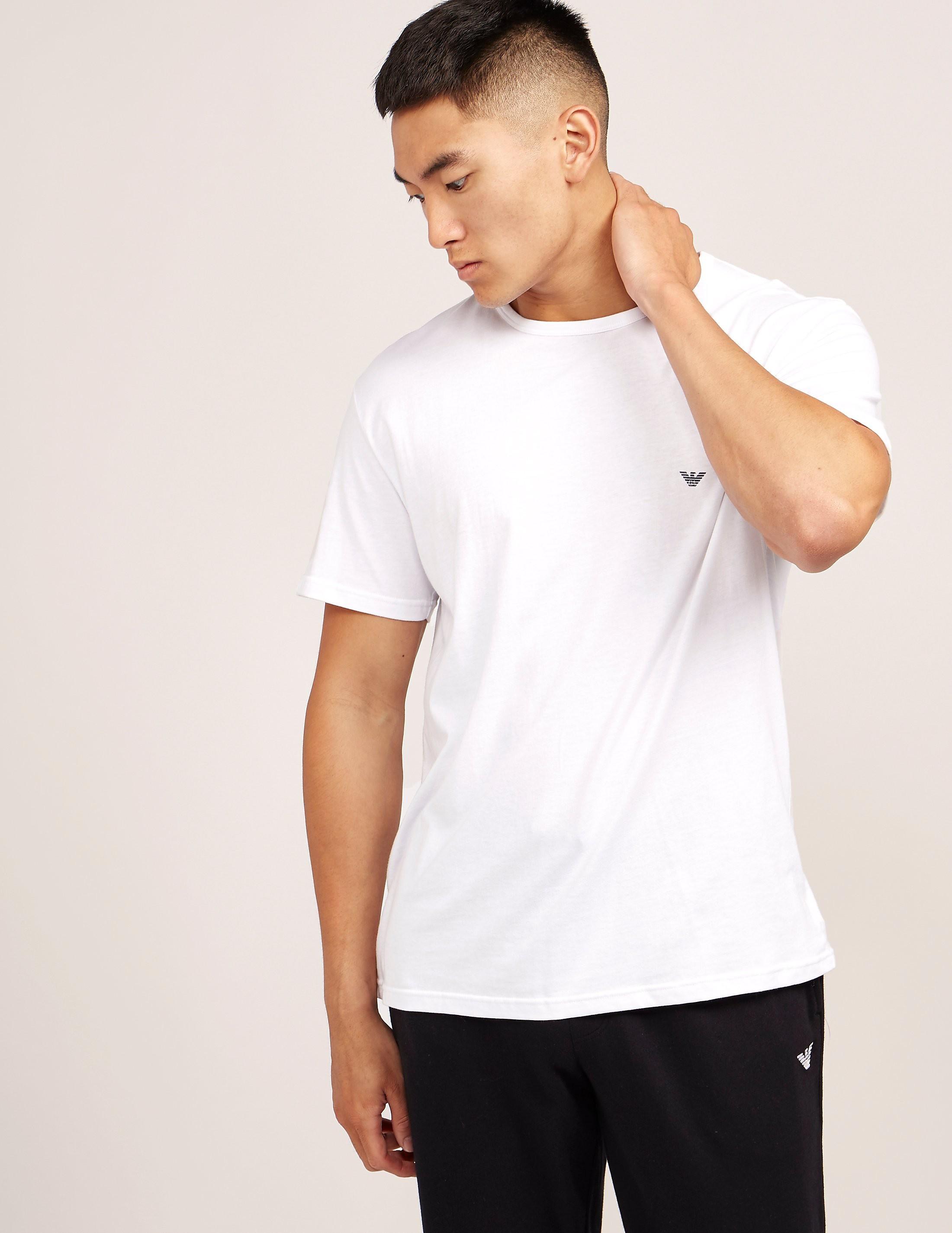 Emporio Armani Crew Neck Short Sleeve T- Shirt