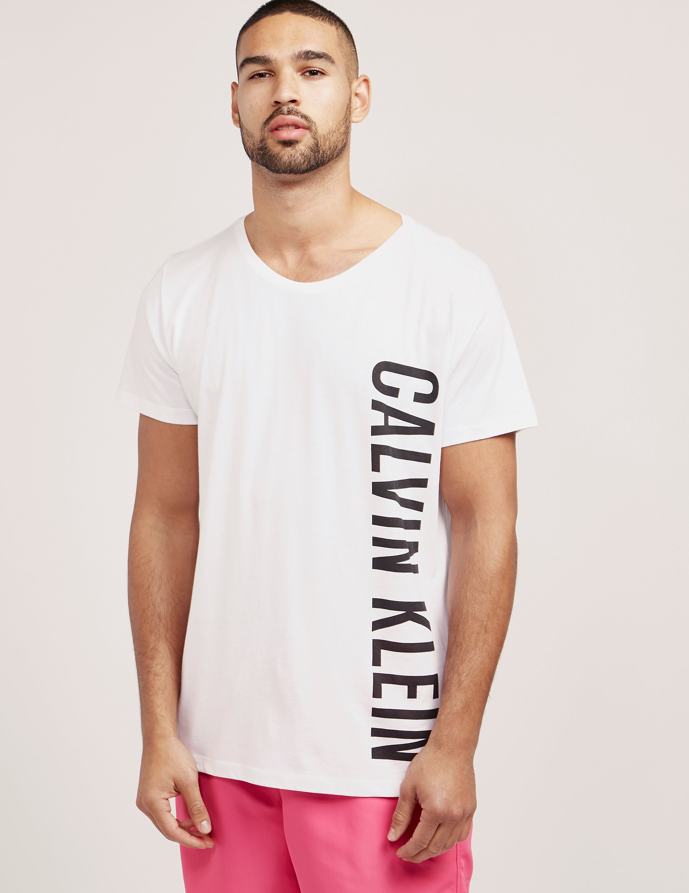 Calvin Klein Side Logo Short Sleeve T-Shirt