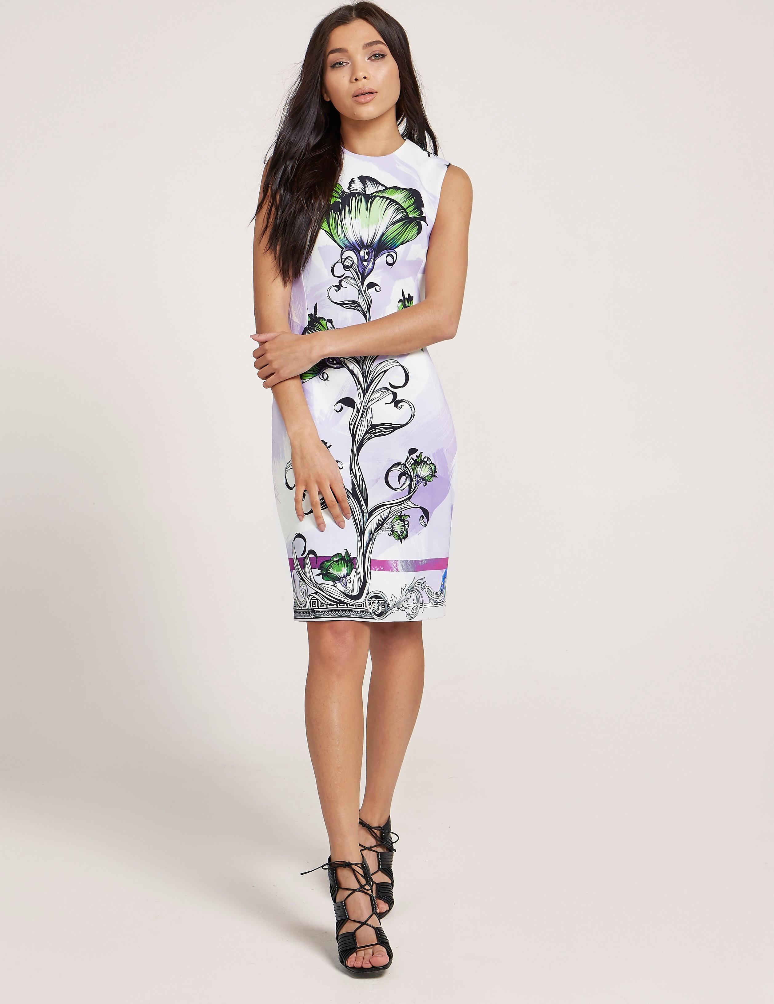 Versus Versace Print Dress