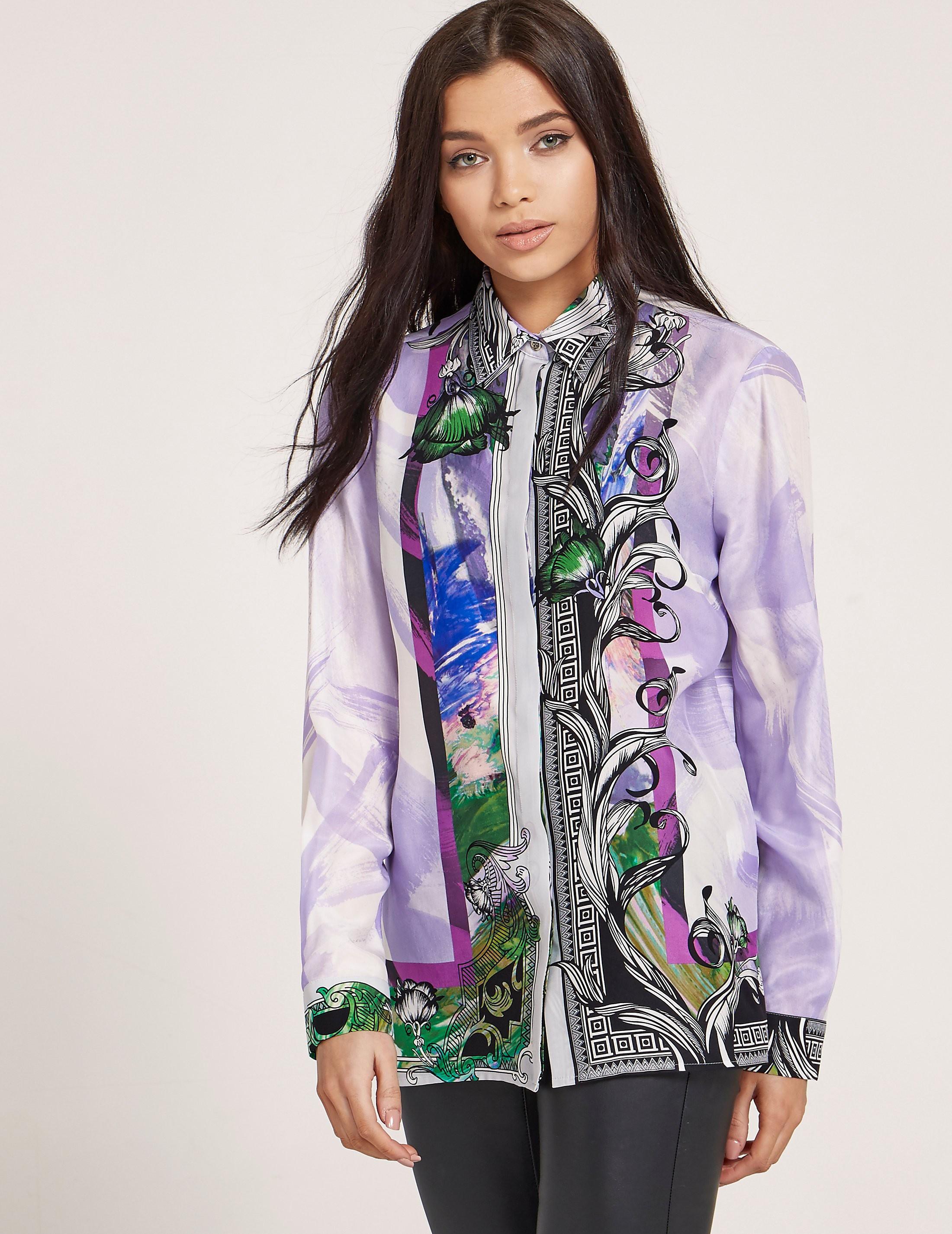 Versace Print Blouse