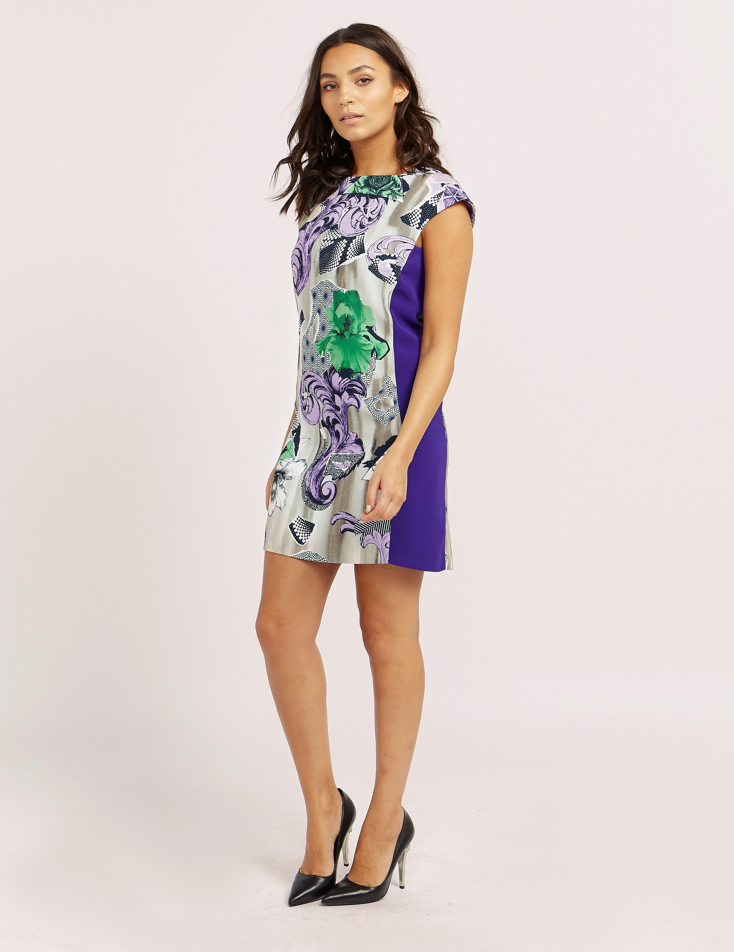 Versace Print Mini Dress