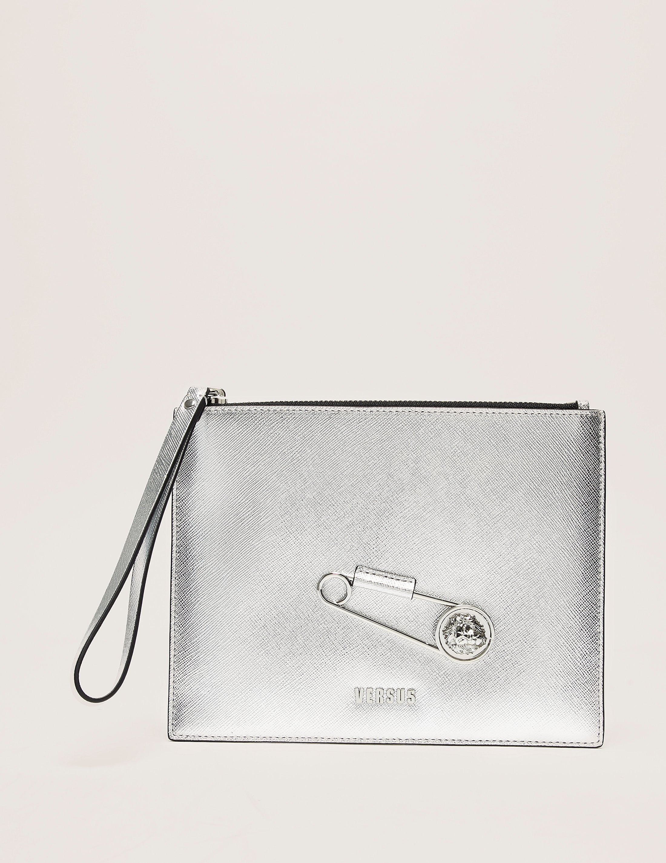 Versus Versace Safety Pin Clutch
