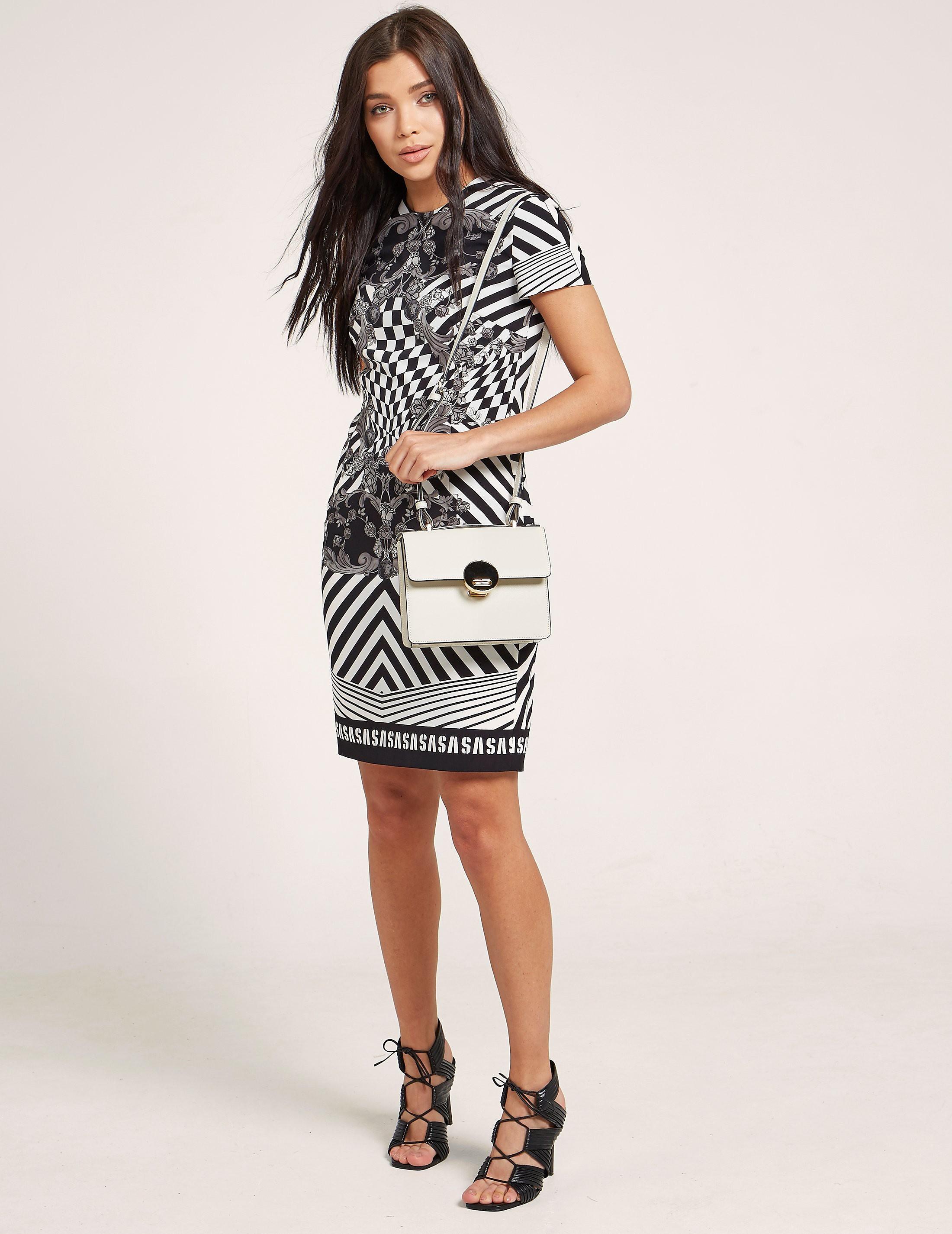 Versus Versace Optical Print Dress