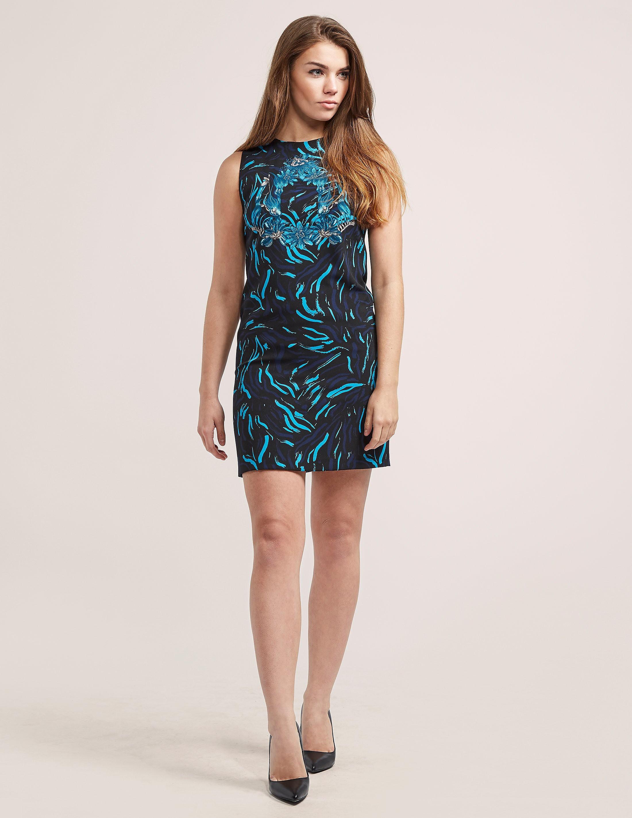 Versus Versace Floral Print Shift Dress