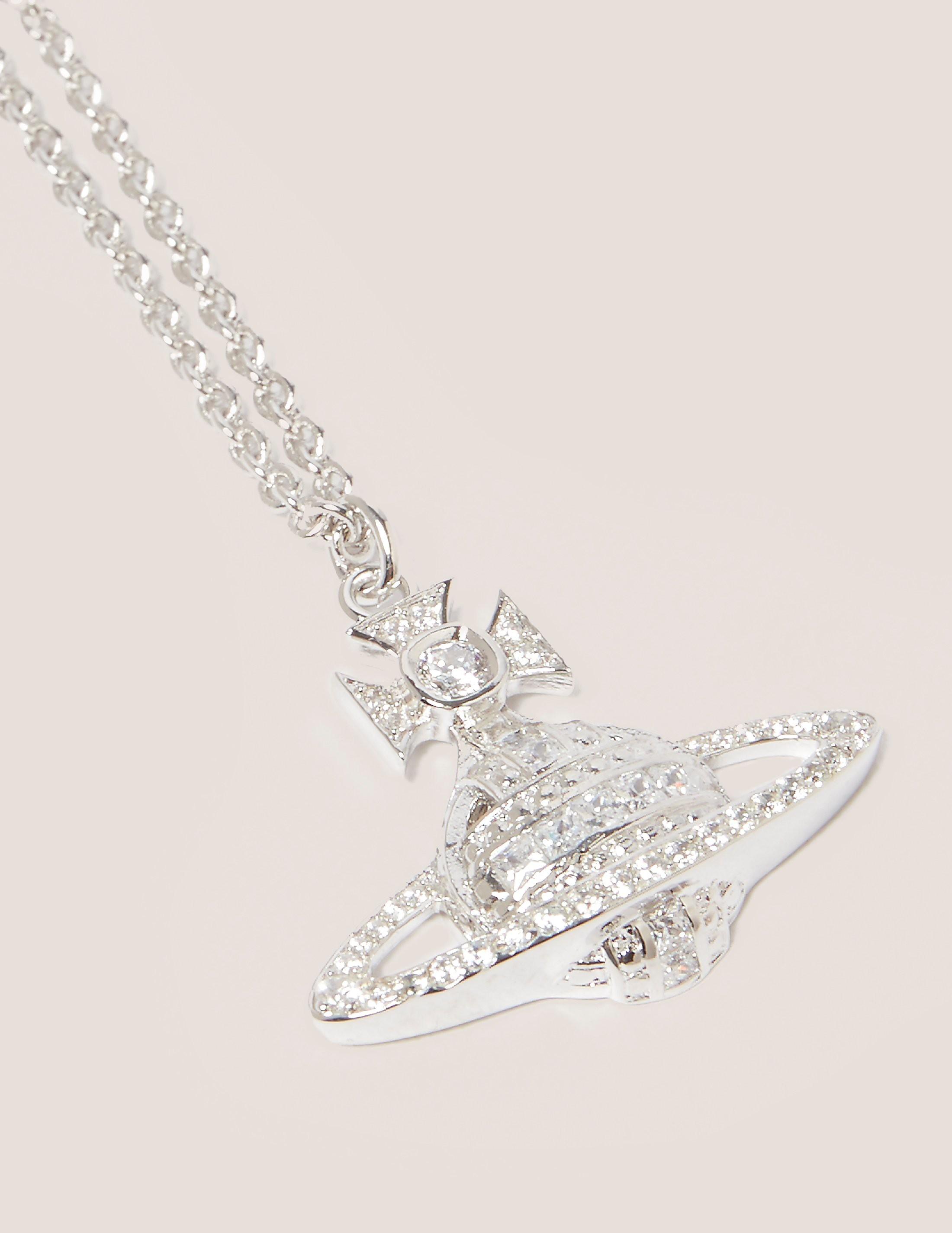 Vivienne Westwood Andrea Orb Necklace