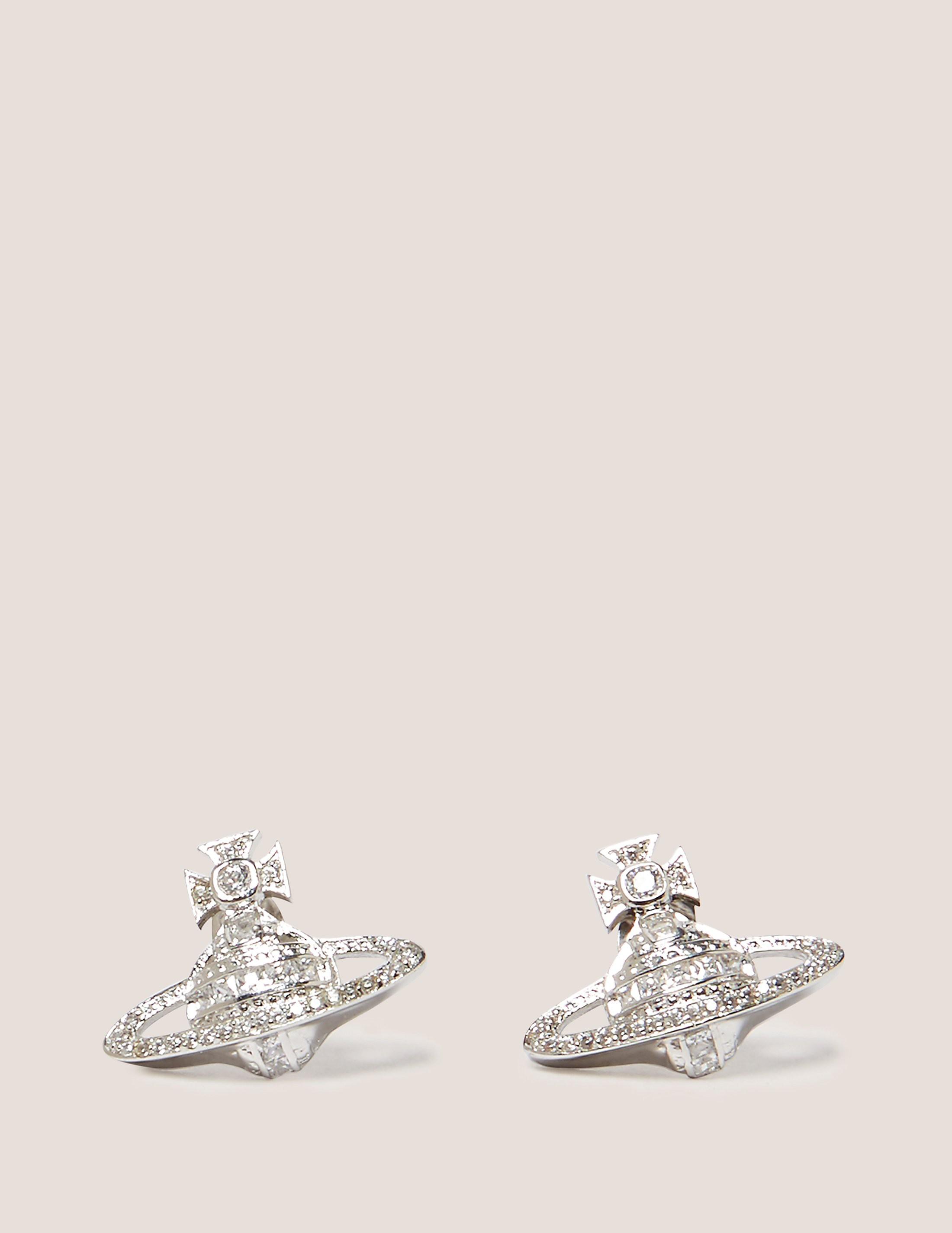Vivienne Westwood Andrea Stud Earrings