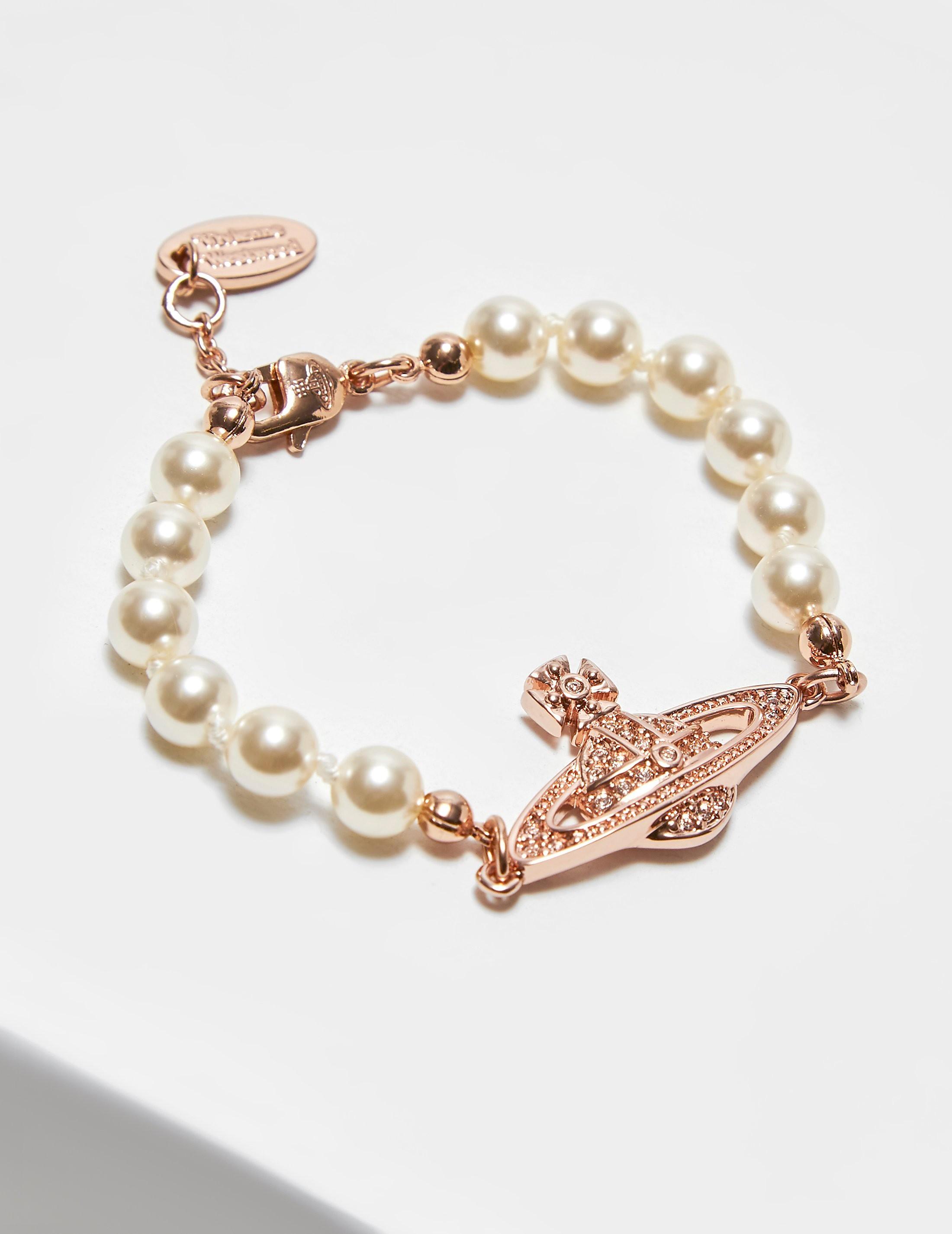 Vivienne Westwood Pearl Mini Bracelet