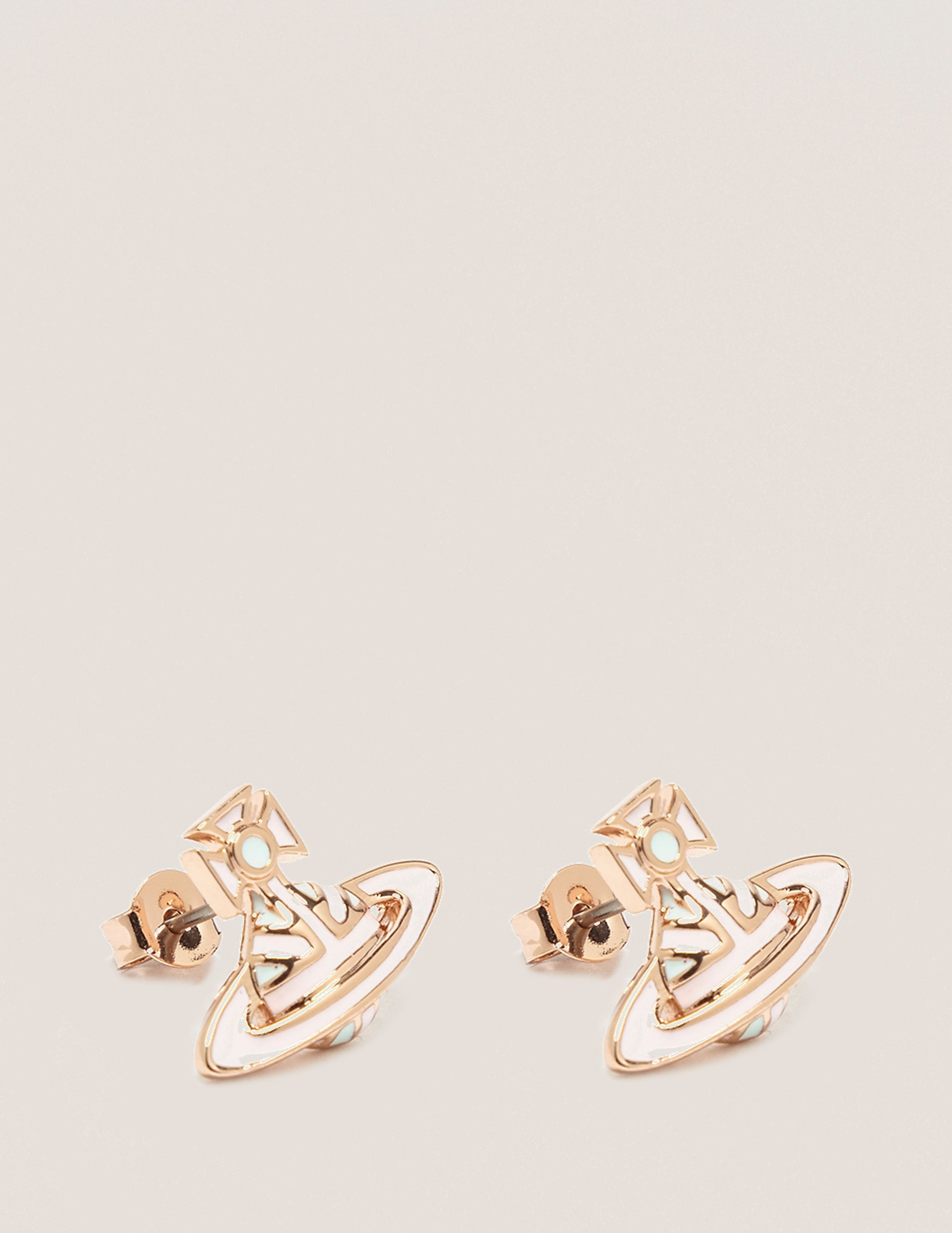 Vivienne Westwood Jack Enamel Orb Earrings
