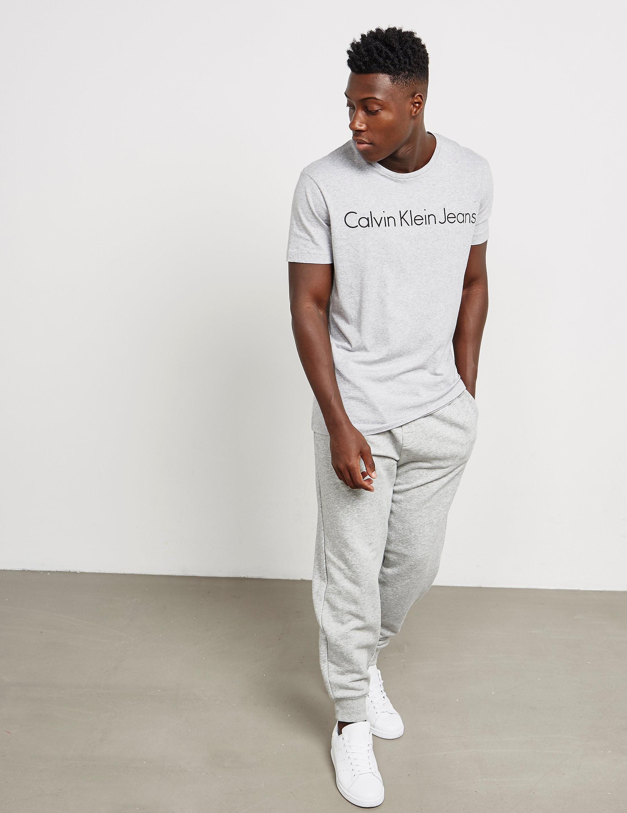Calvin Klein Logo Short Sleeve T-Shirt